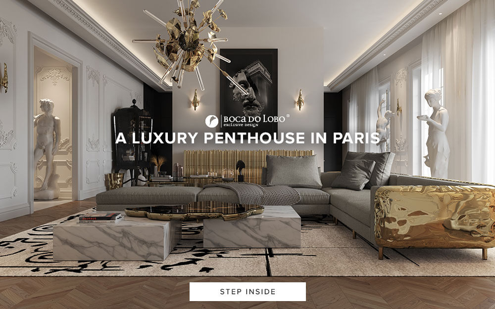 A Luxury Penthouse in Paris - Step Inside
