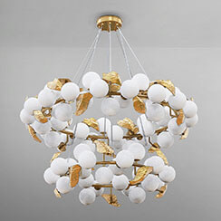 Hera Round II Suspension Lamp - Boca do Lobo