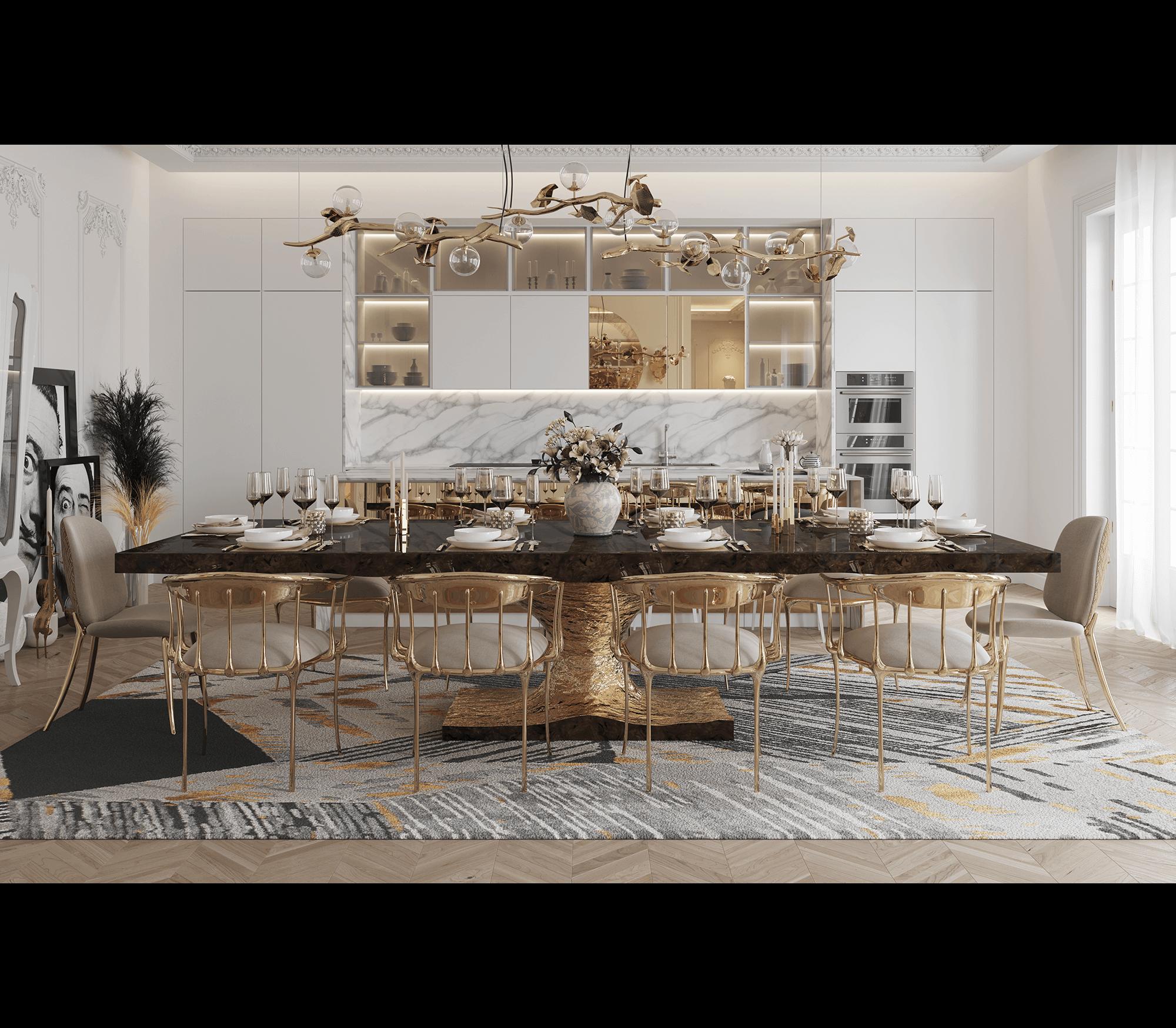 Metamorphosis Dining Table Boca Do, Olinde 8217 S Dining Room Furniture Sets