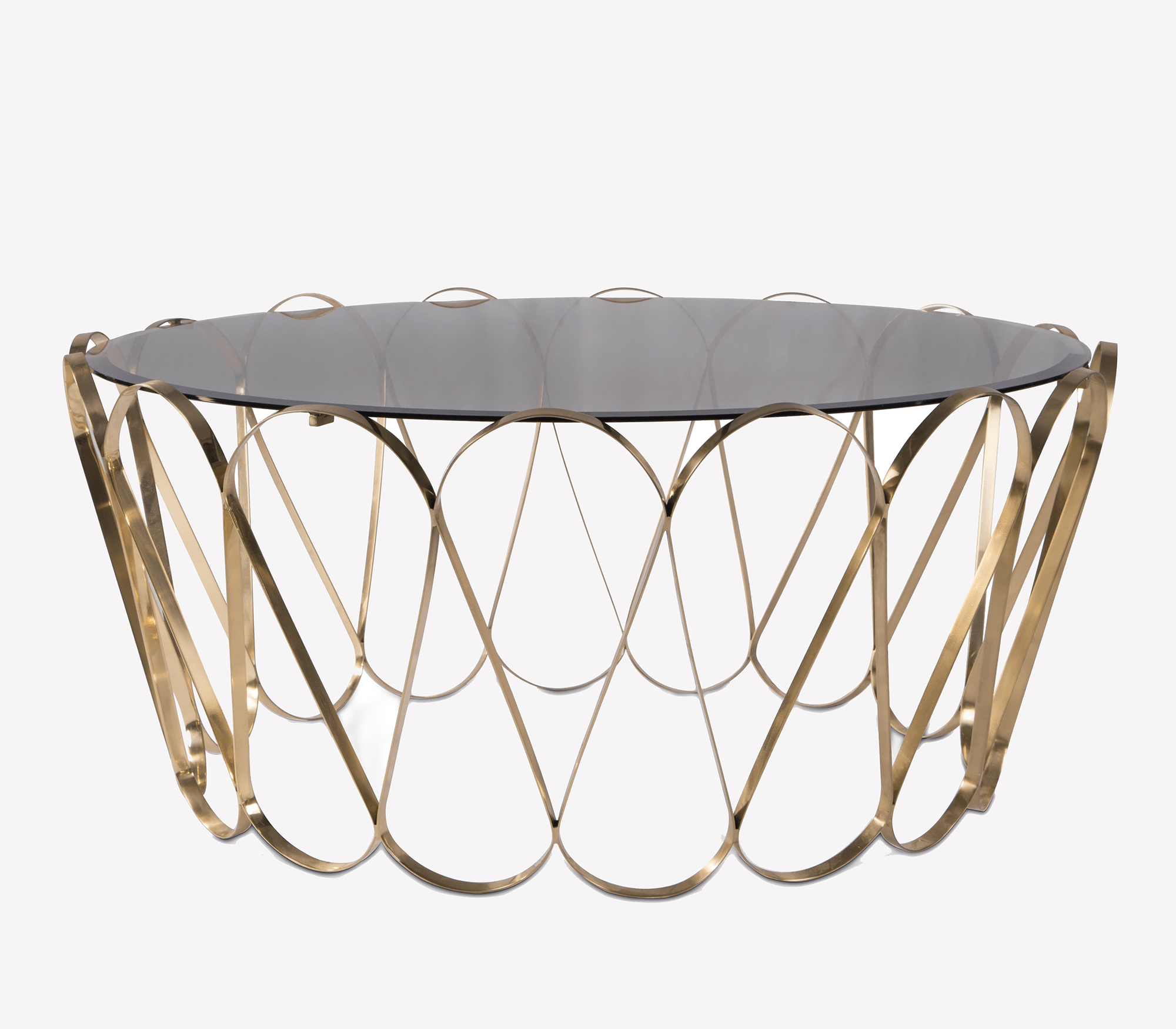 Aquarius Gold Center Table by Boca do Lobo