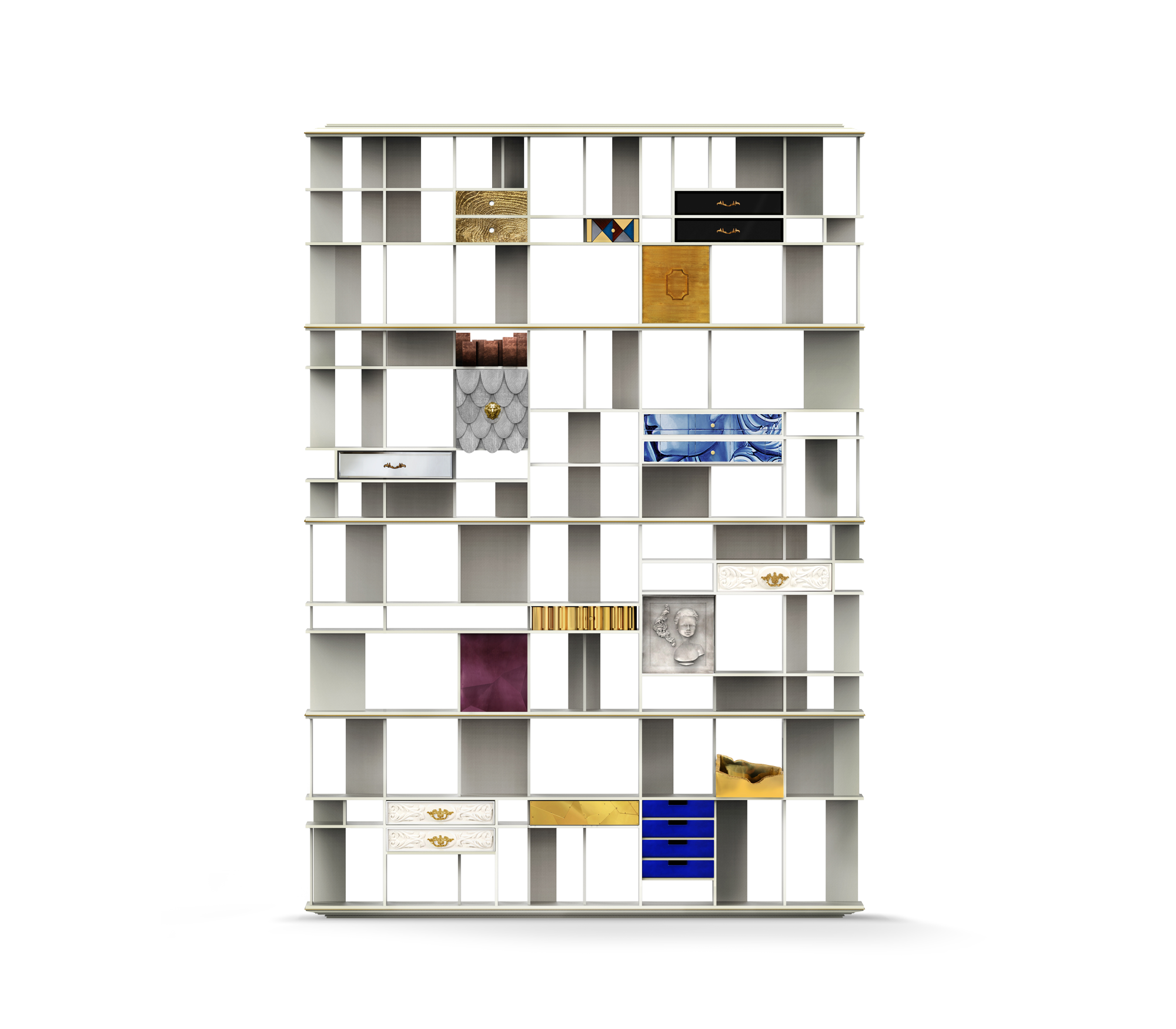 COLECCIONISTA BOOKCASE by Boca do Lobo