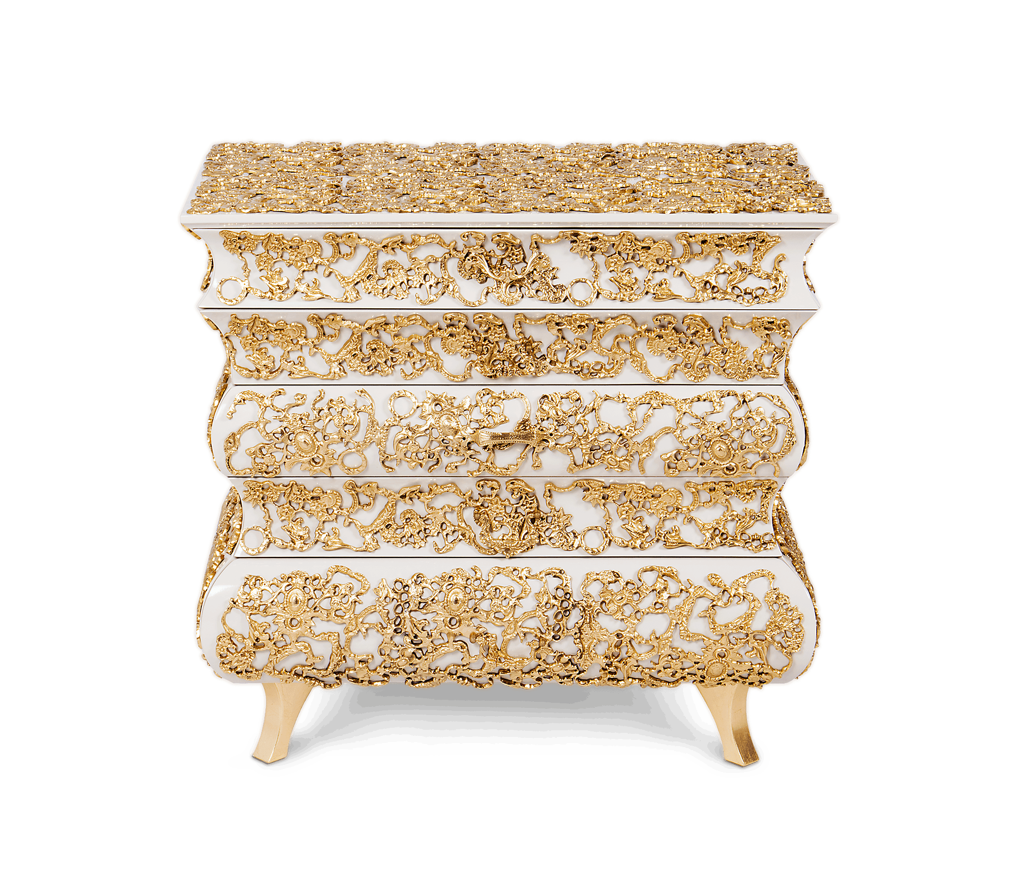 Crochet Nightstand by Boca do Lobo