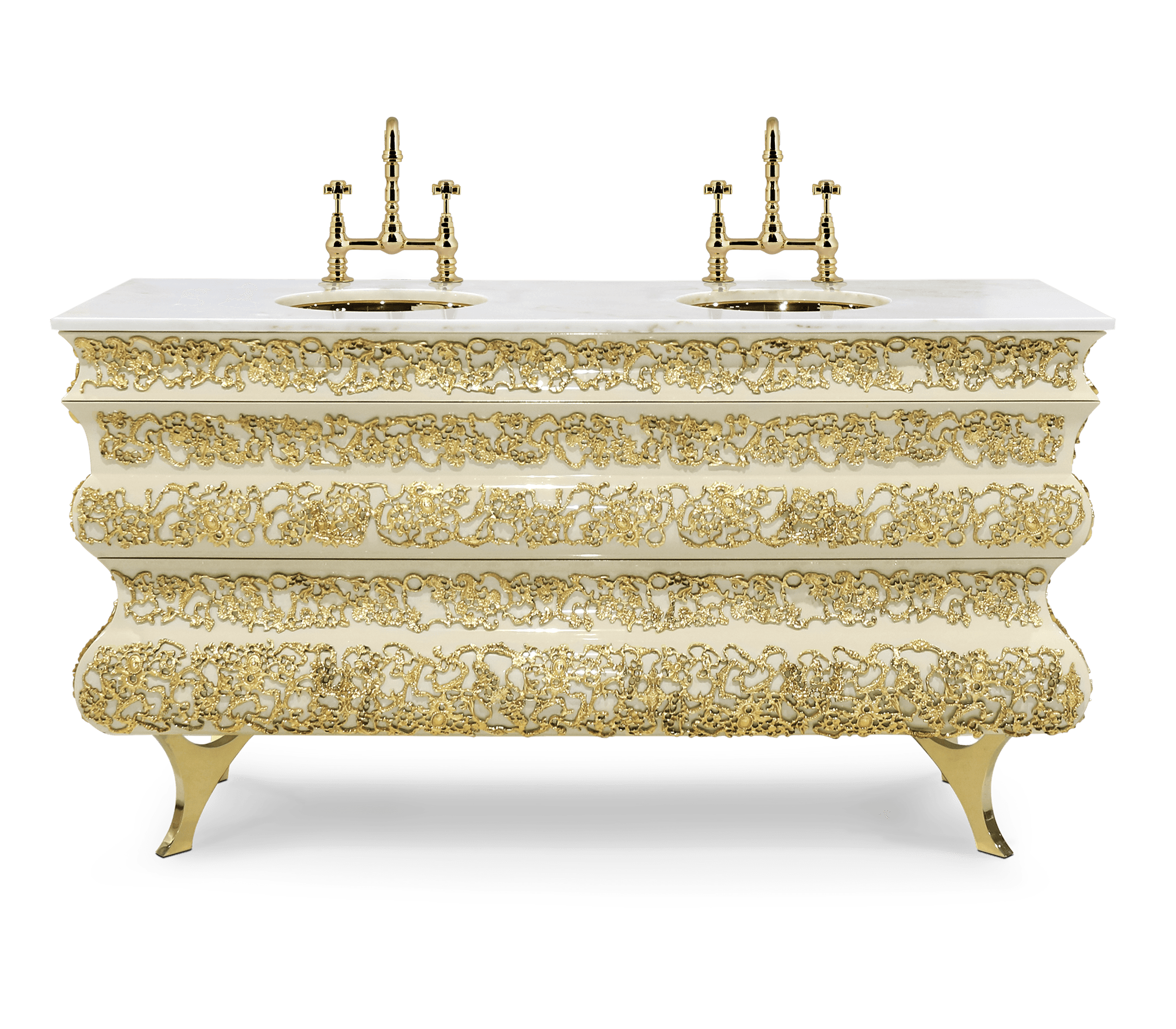 Crochet Washbasin by Boca do Lobo