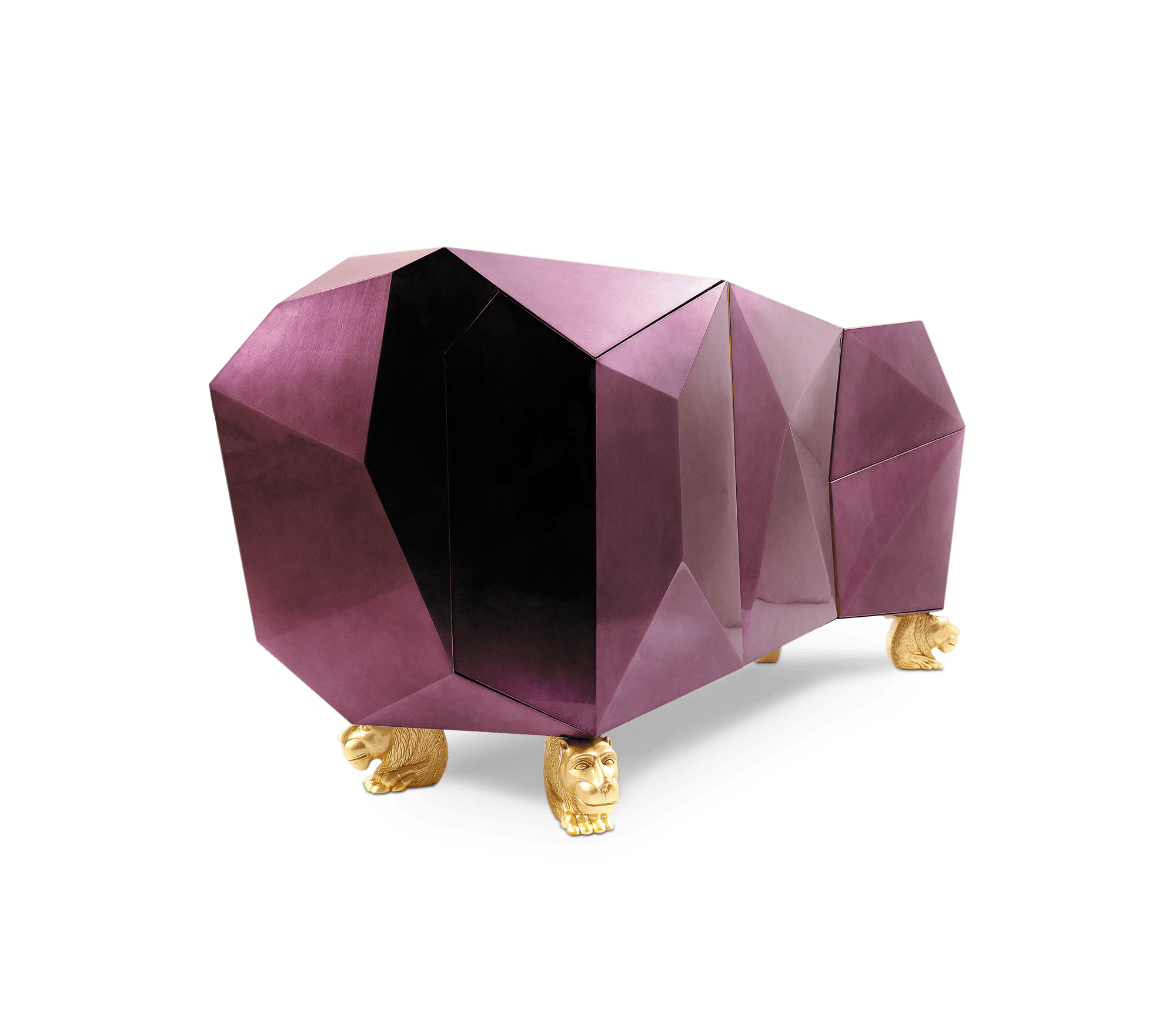 Diamond Amethyst Sideboard by Boca do Lobo