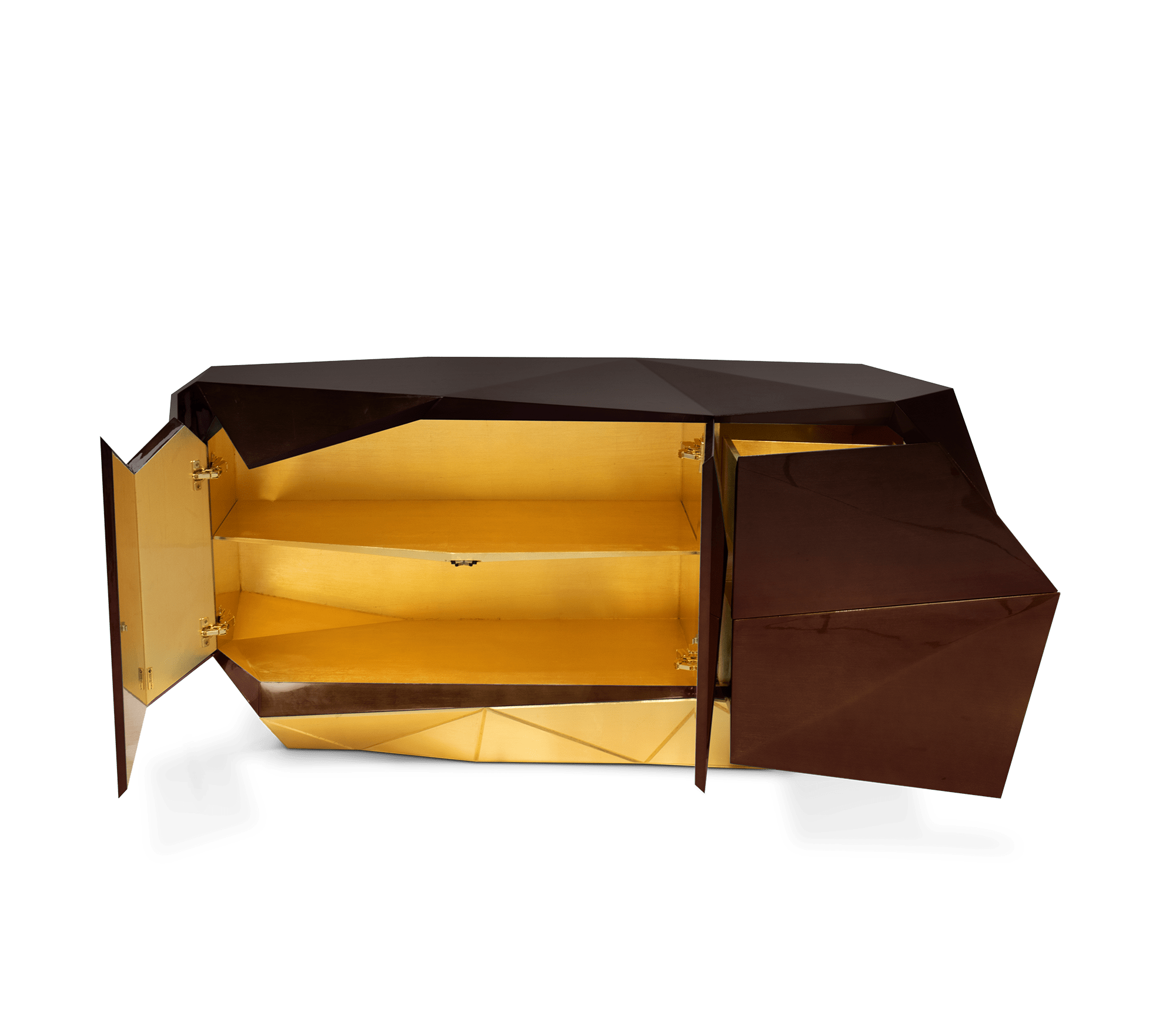 Diamond Chocolate Sideboard by Boca do Lobo