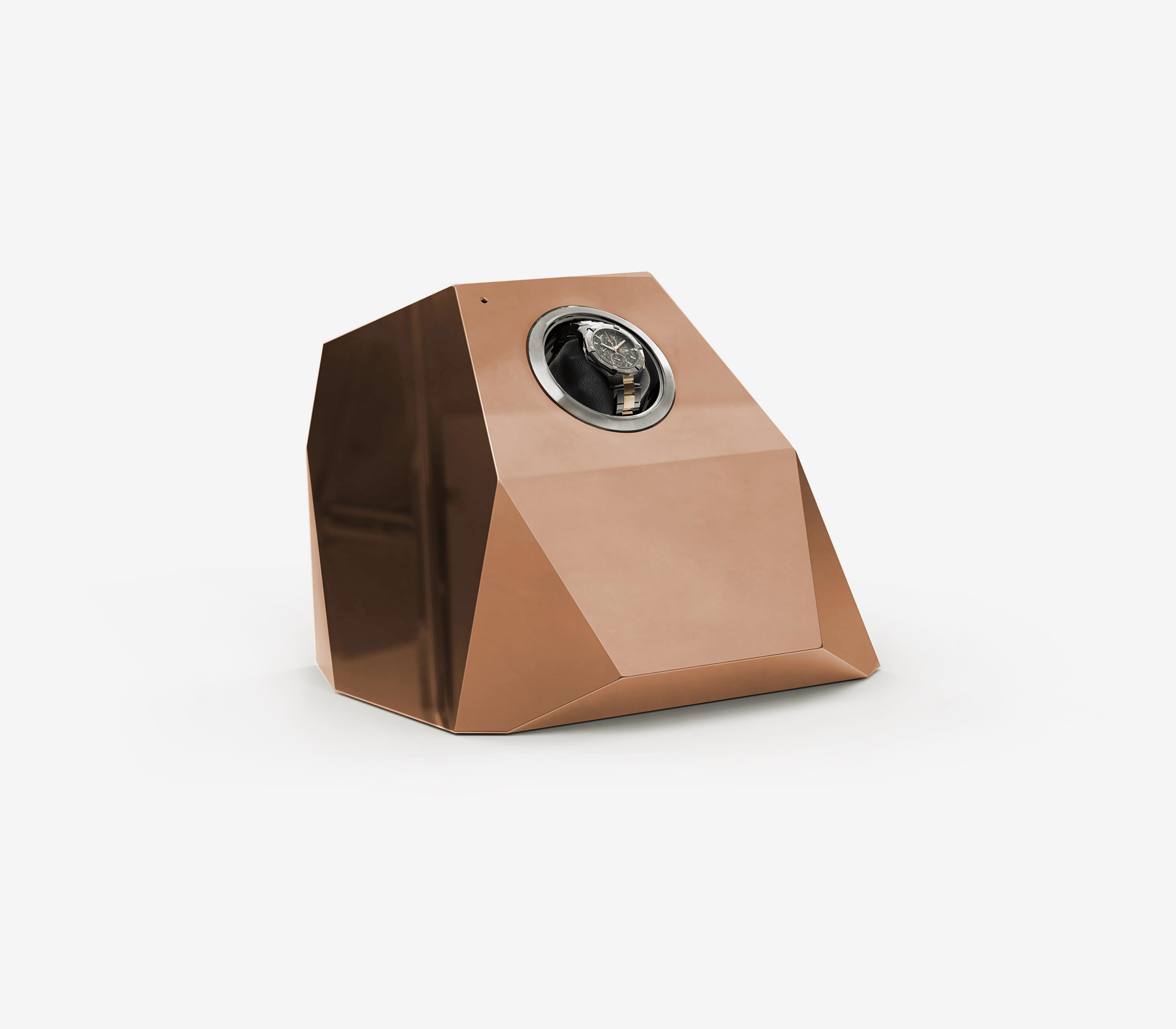 Diamond Copper Watch Winder by Boca do Lobo