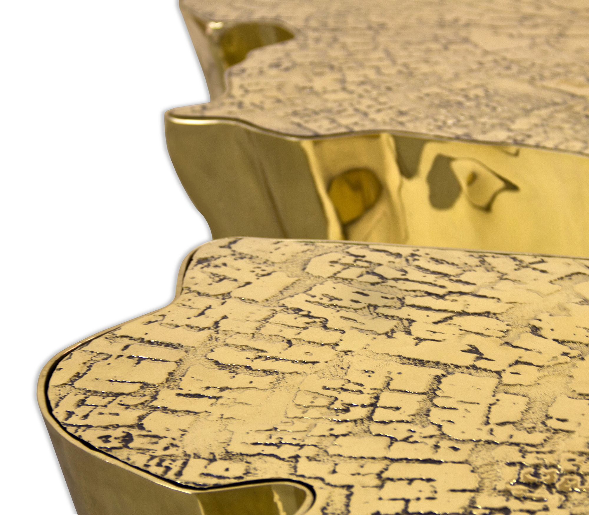 EDEN GOLD CENTER TABLE by Boca do Lobo