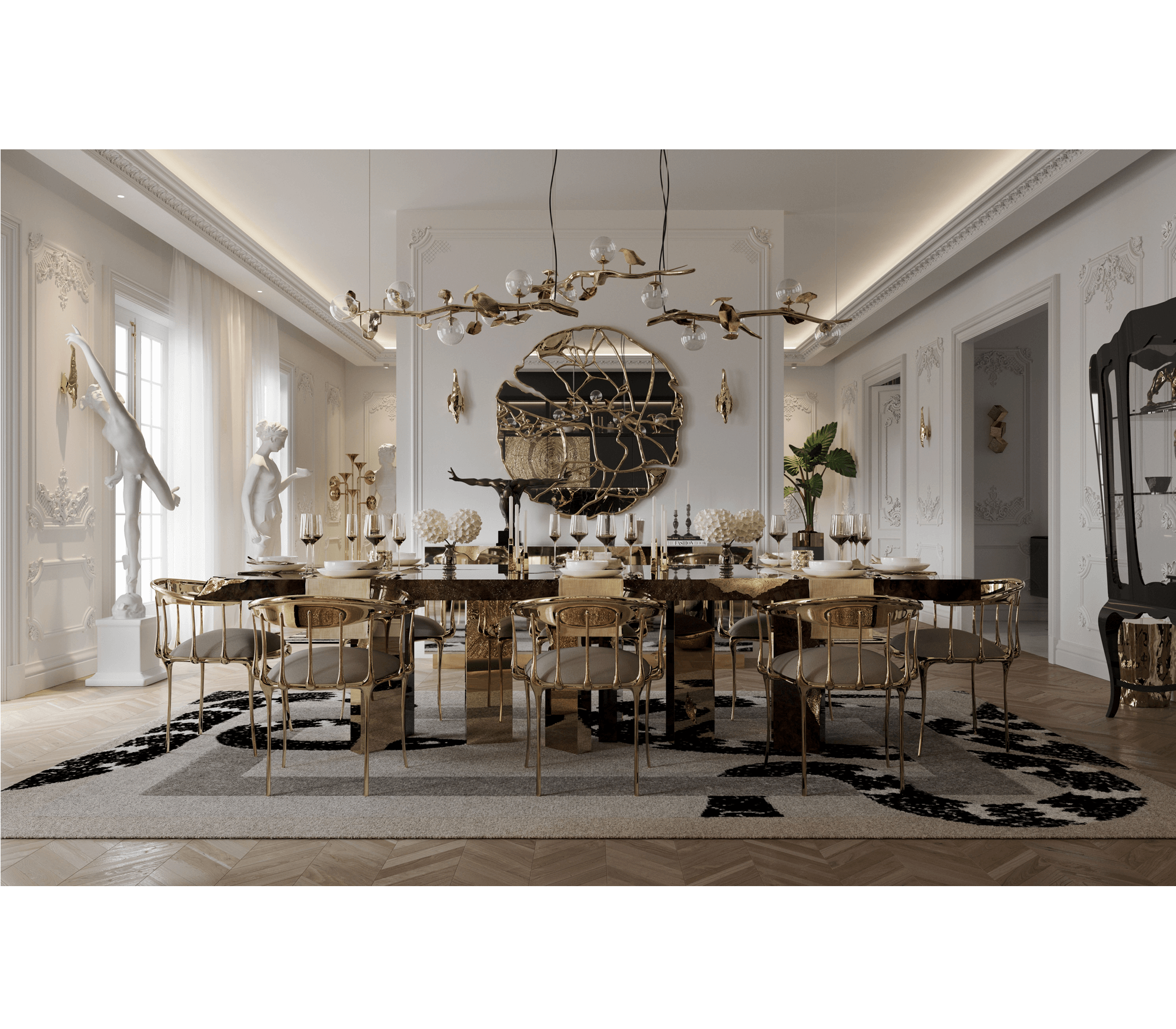 Empire Dining Table by Boca do Lobo