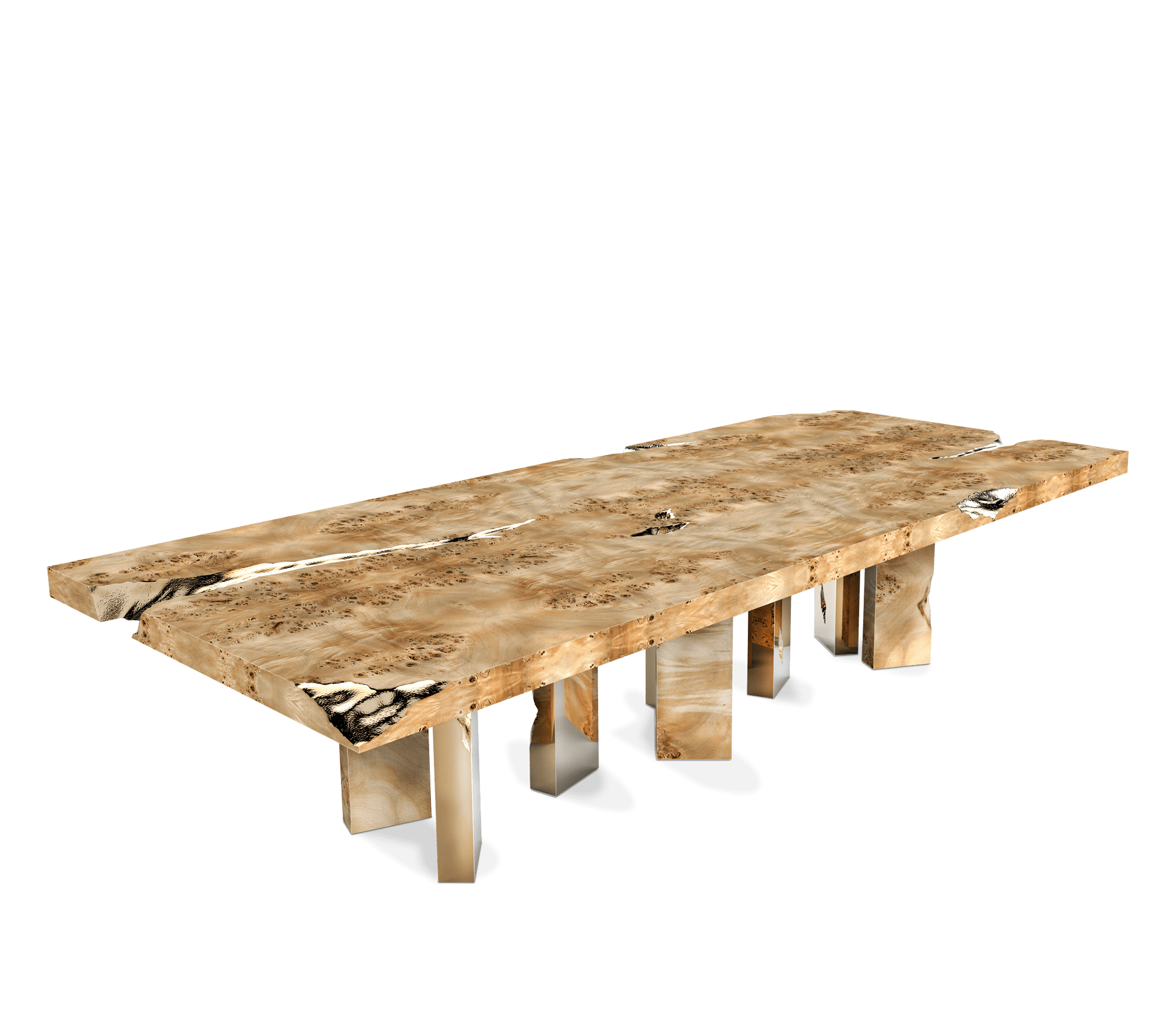 Empire Poplar Dining Table by Boca do Lobo