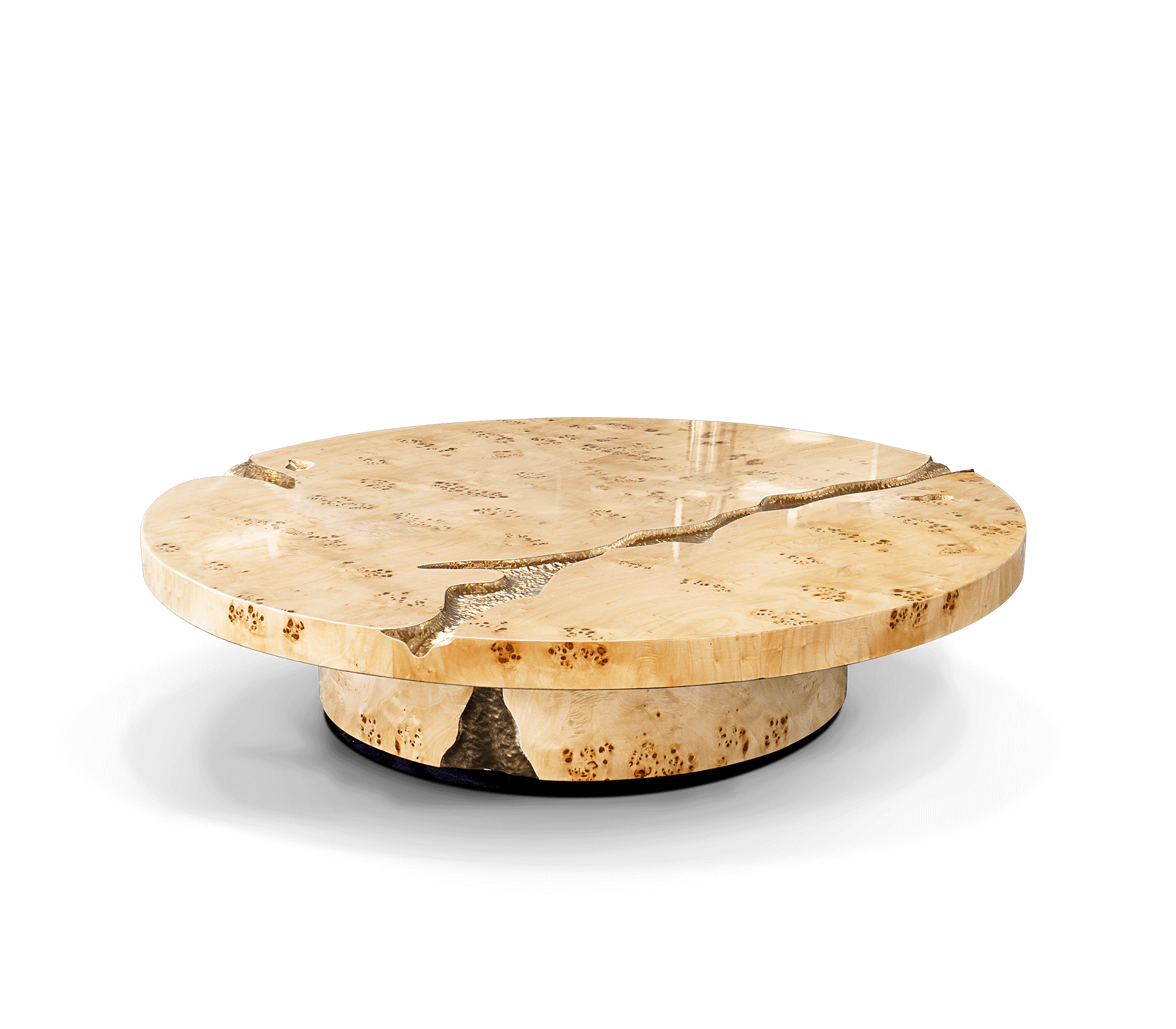 Empire Poplar Root Center Table by Boca do Lobo