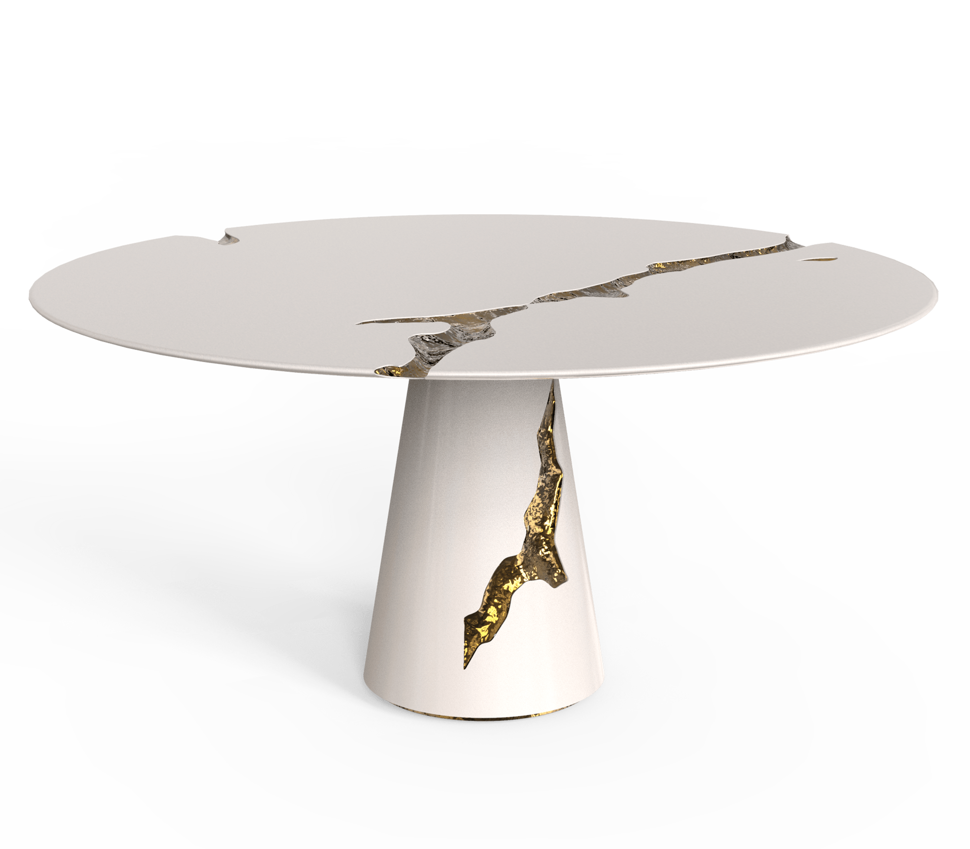 Empire Round Dining Table by Boca do Lobo