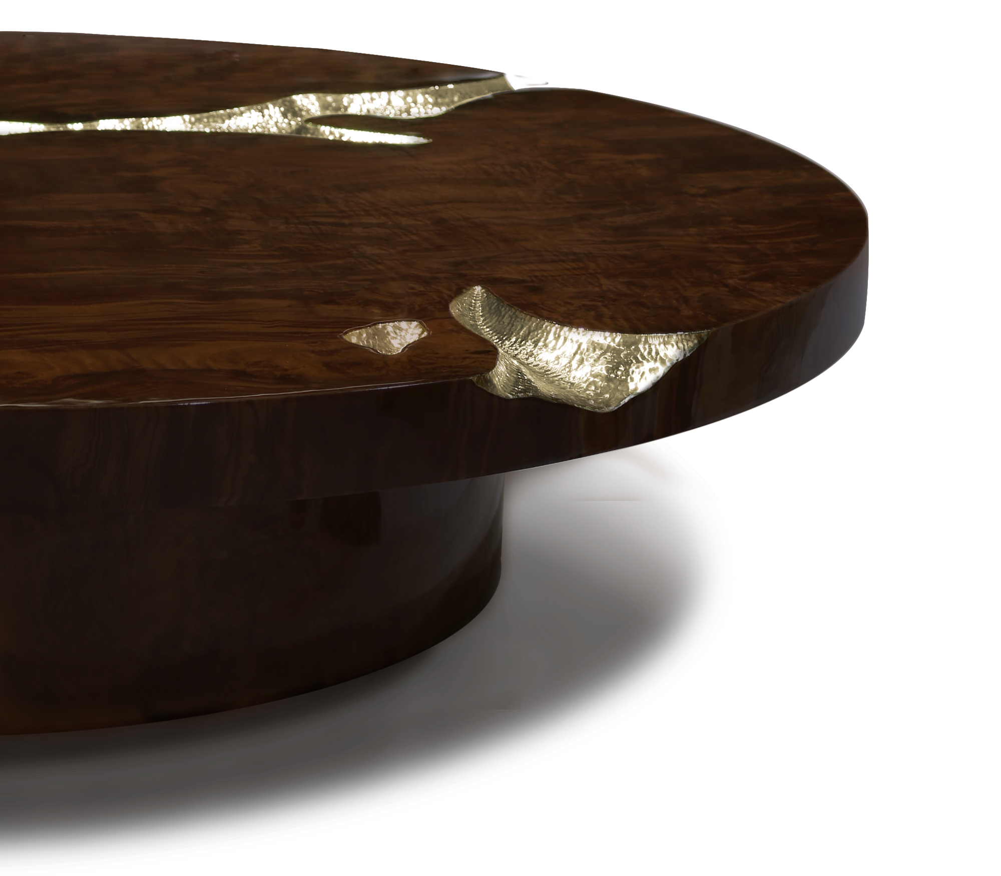 Empire Walnut Center Table by Boca do Lobo