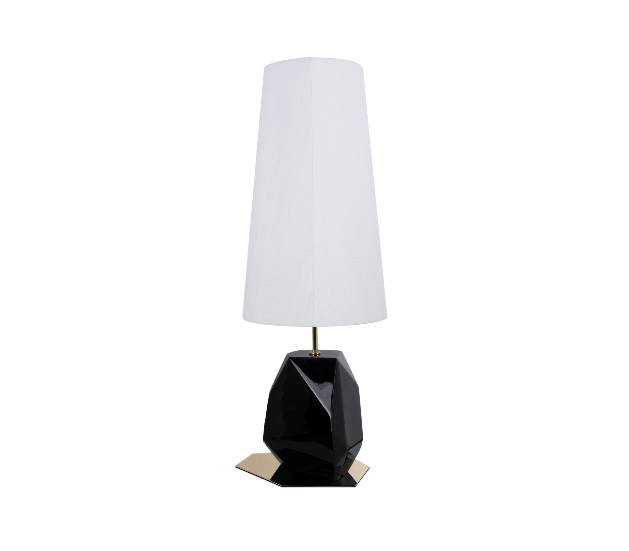 Feel Small Black Table Lamp by Boca do Lobo