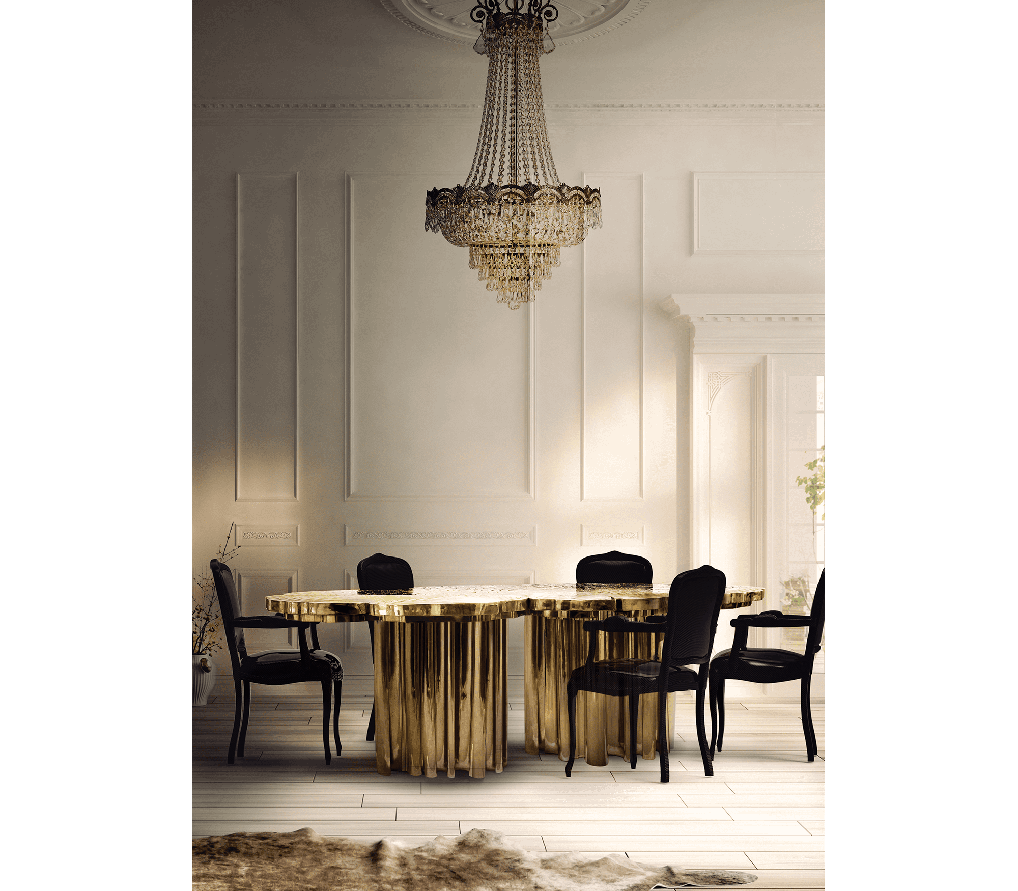 fortuna dining table by Boca do Lobo