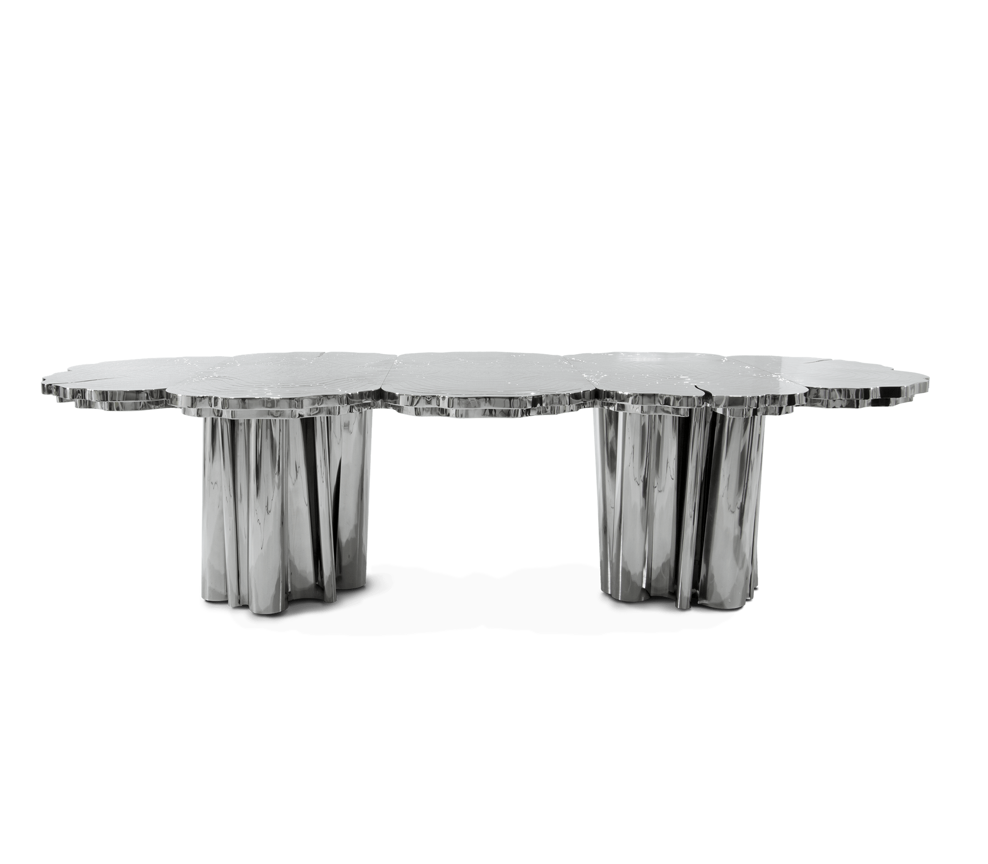 Fortuna Inox Dining Table by Boca do Lobo