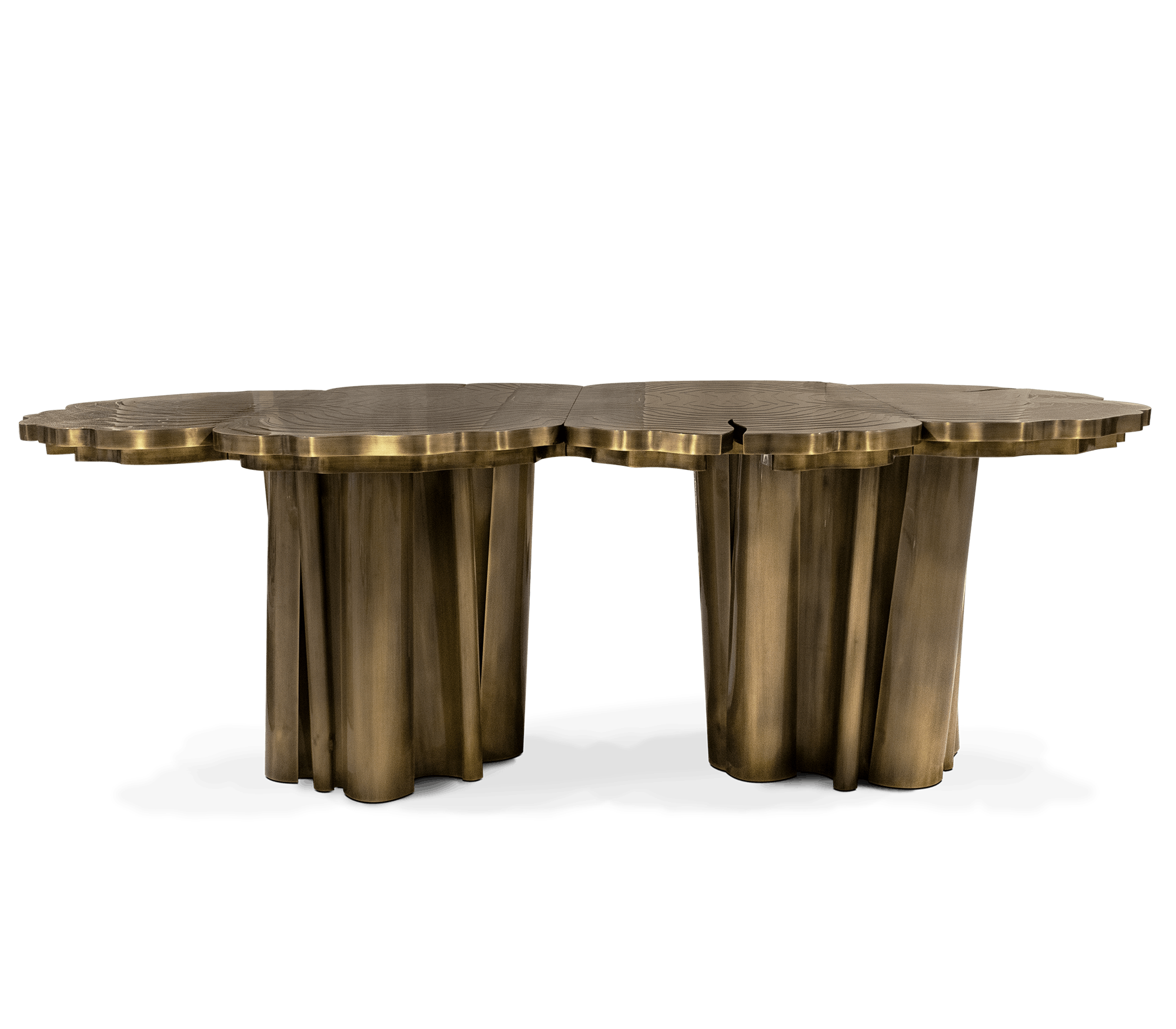 Fortuna Patina Dining Table by Boca do Lobo