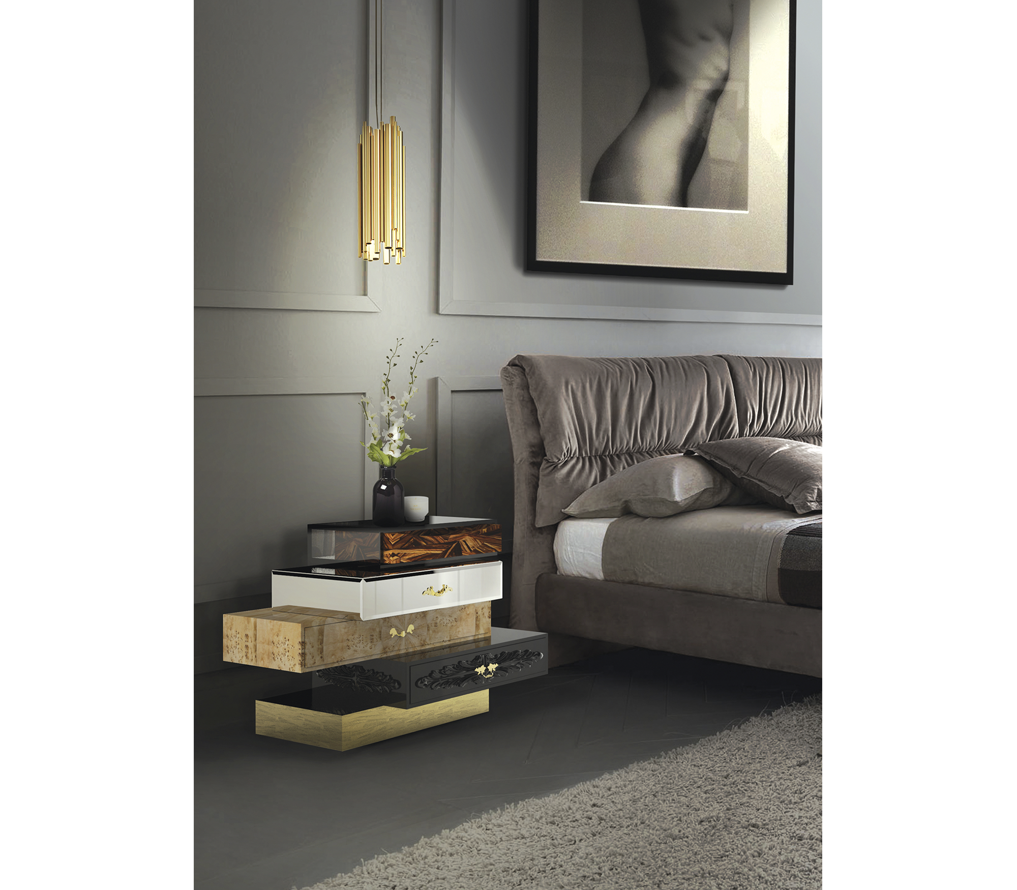 Frank Nightstand by Boca do Lobo