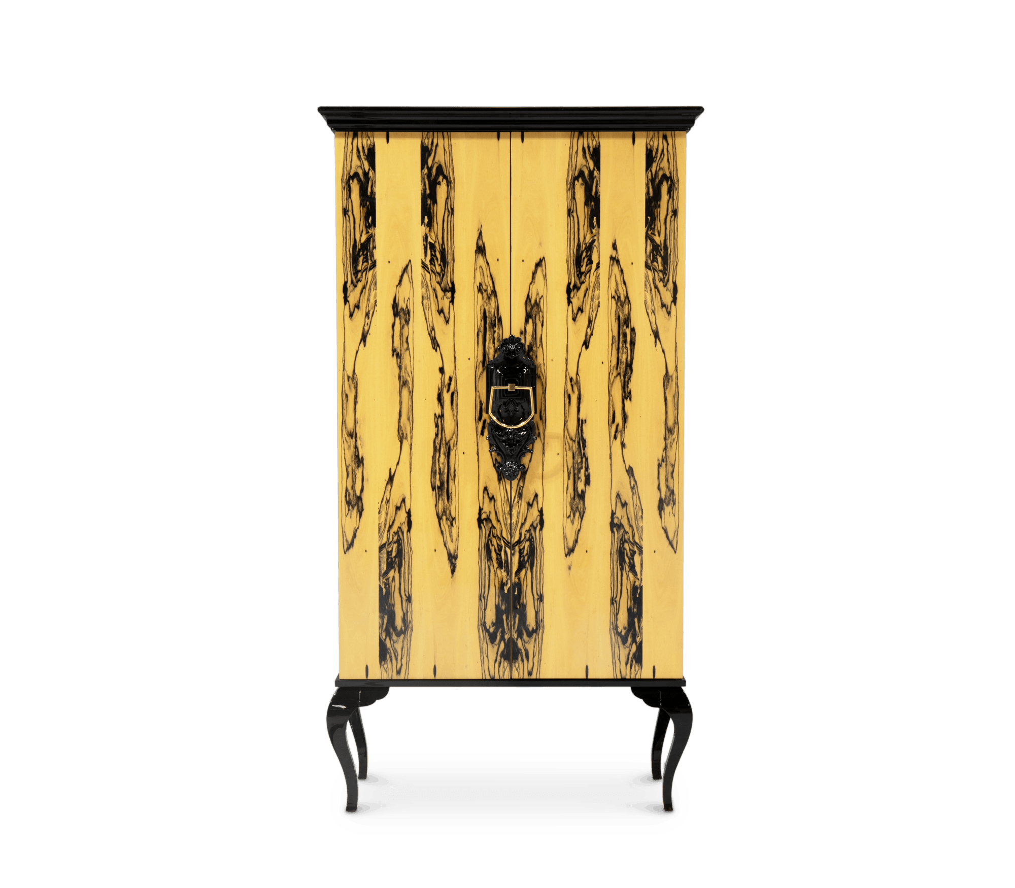 Guggenheim Ebony Royal Cabinet by Boca do Lobo