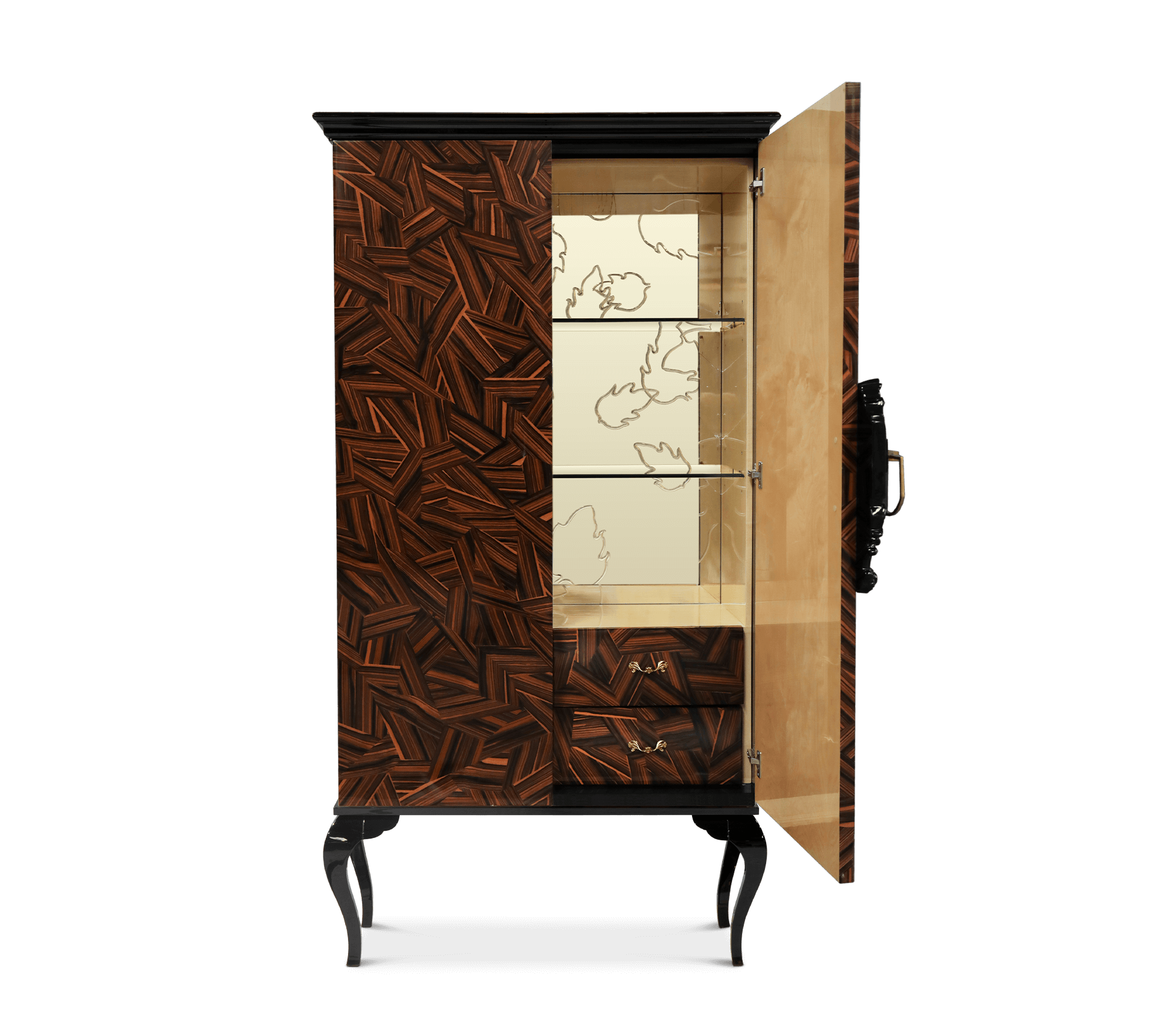 Guggenheim Patch Cabinet by Boca do Lobo