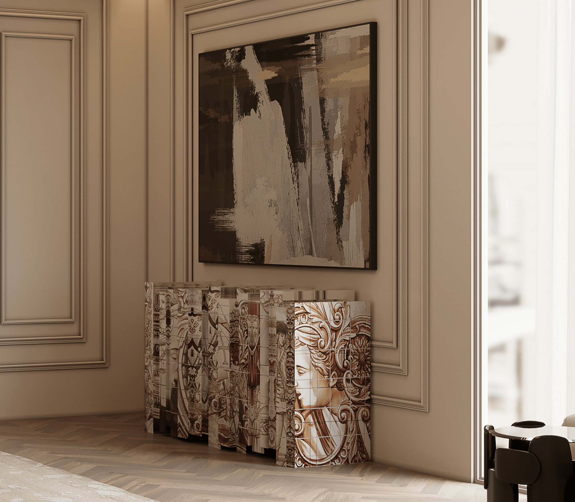 Heritage Sepia Sideboard by Boca do Lobo