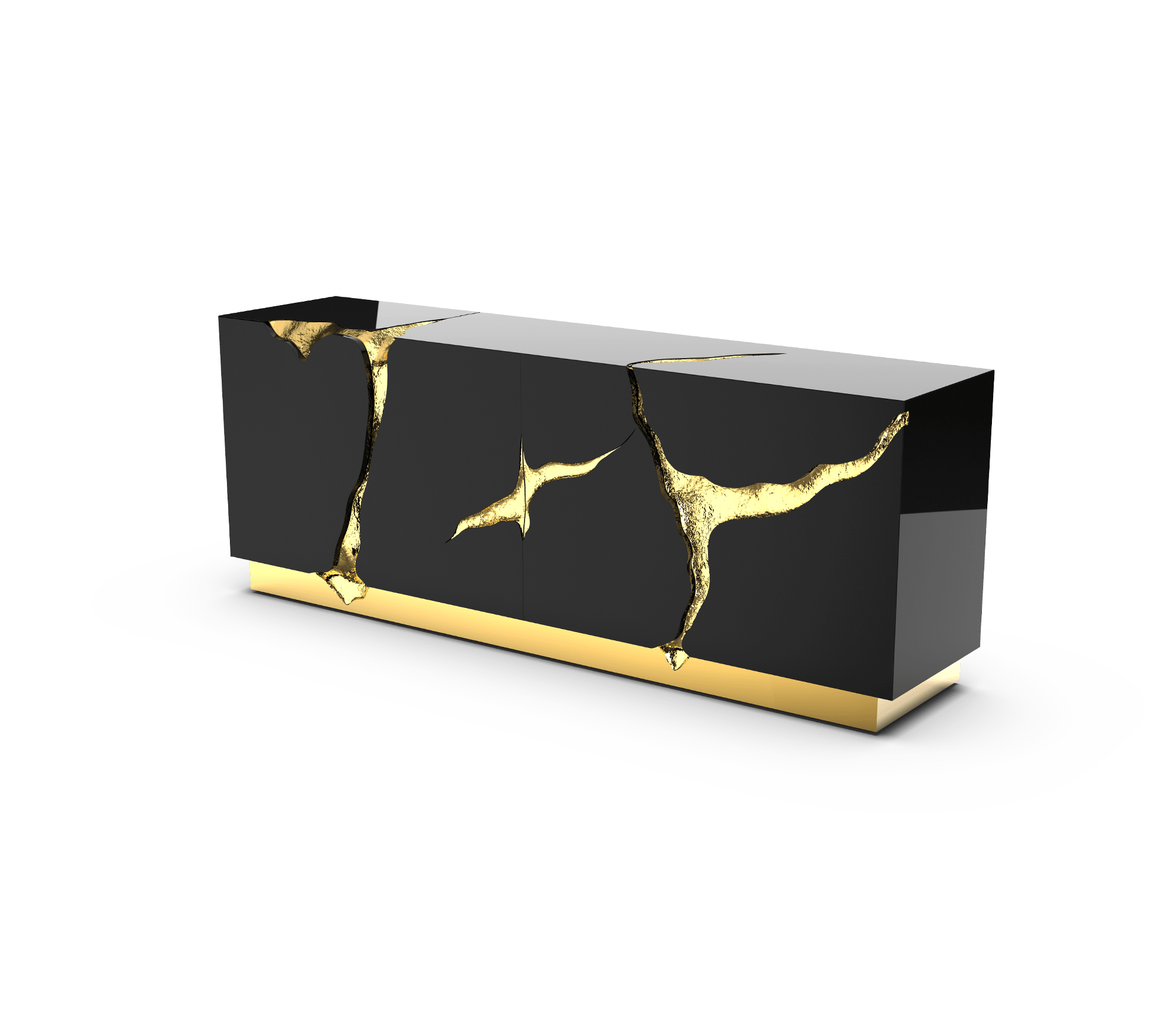 Lapiaz Black Sideboard by Boca do Lobo
