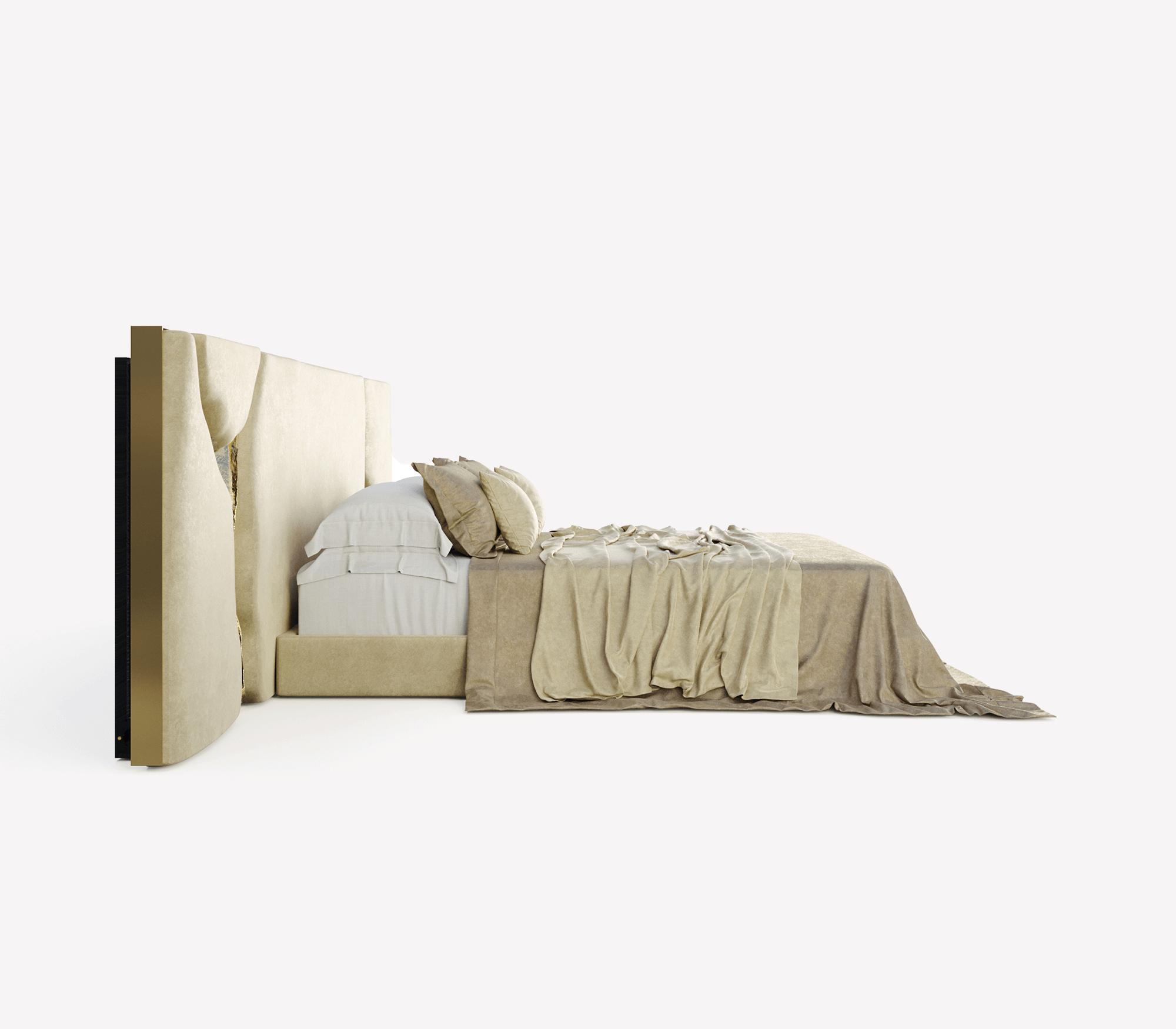 Lapiaz White Headboard by Boca do Lobo