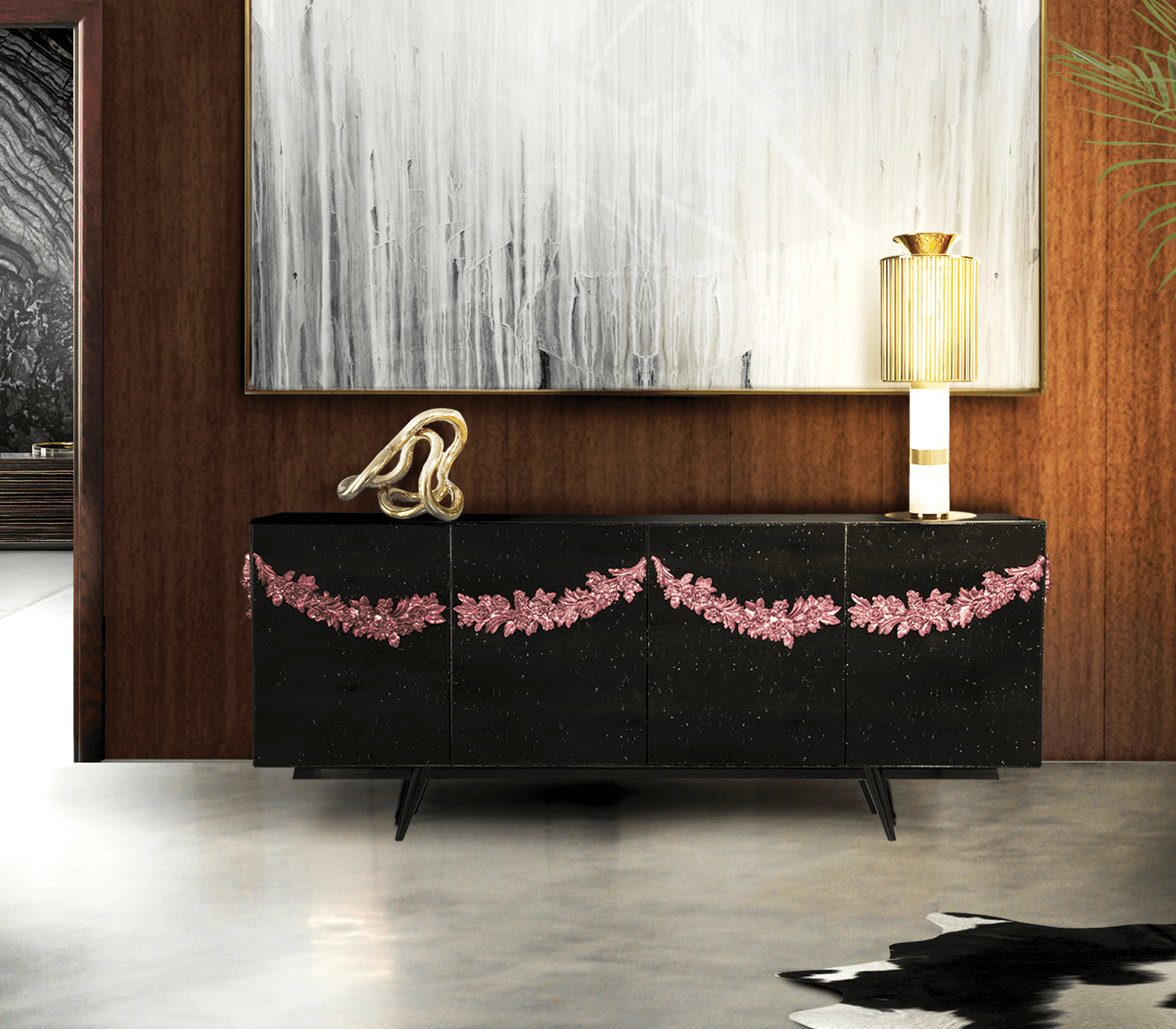 majestic sideboard by Boca do Lobo