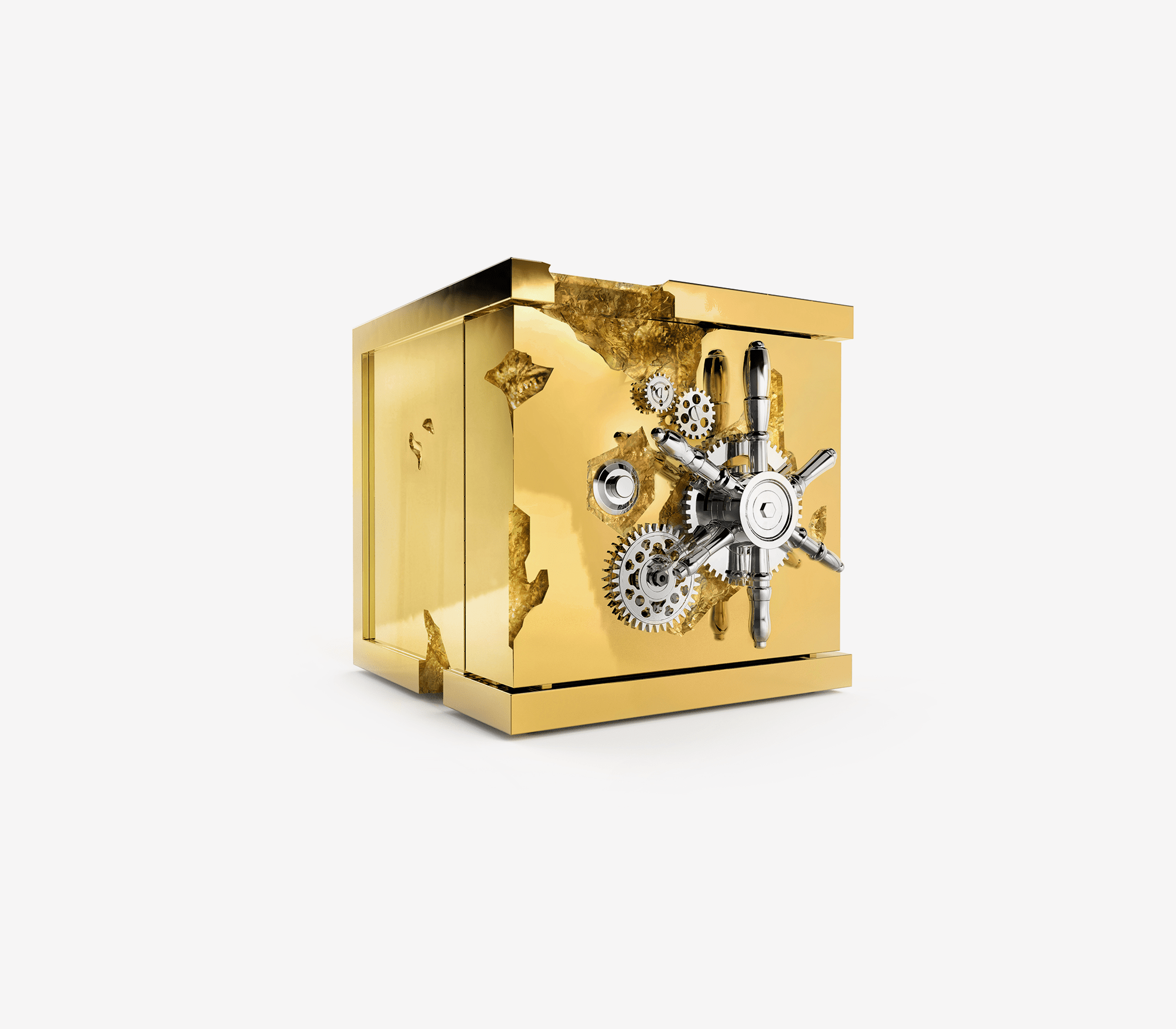 Millionaire Jewelry Safe by Boca do Lobo
