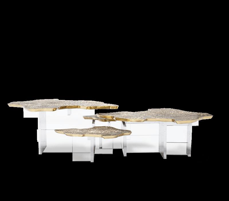top 25 stunning center table ideas Top 25 Stunning Center Table Ideas monet center table 01 boca do lobo