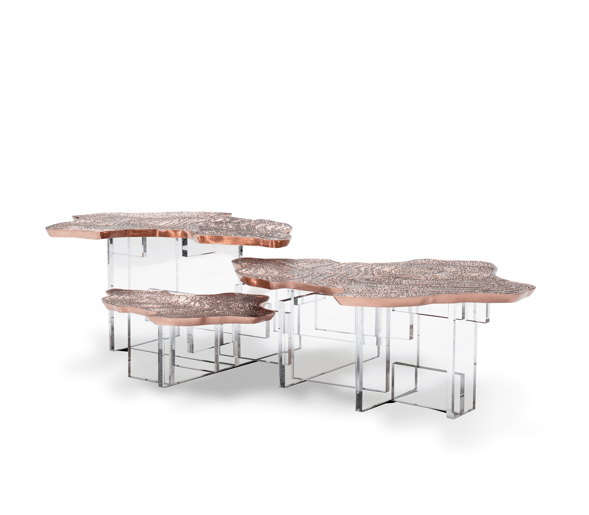 Monet Copper Center Table by Boca do Lobo