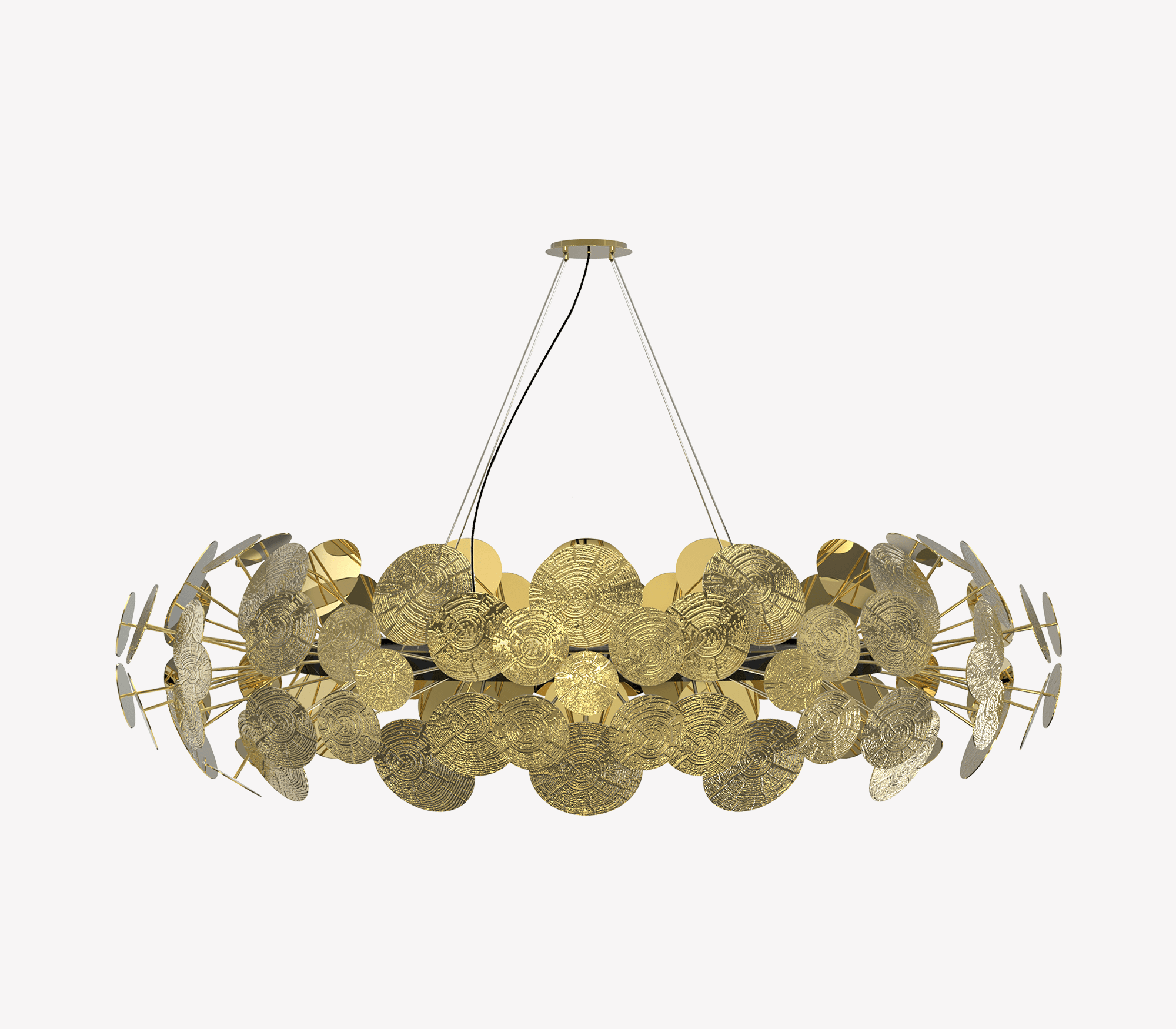 Newton Chandelier by Boca do Lobo