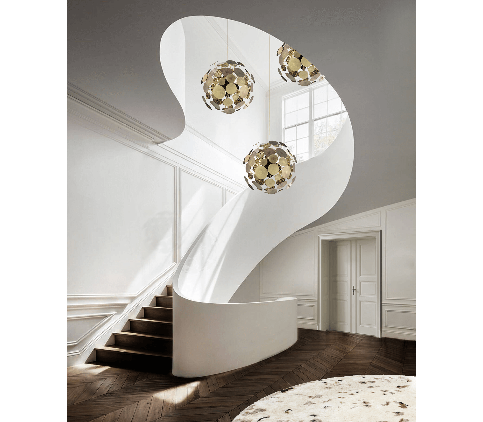 Newton Suspension Lamp by Boca do Lobo