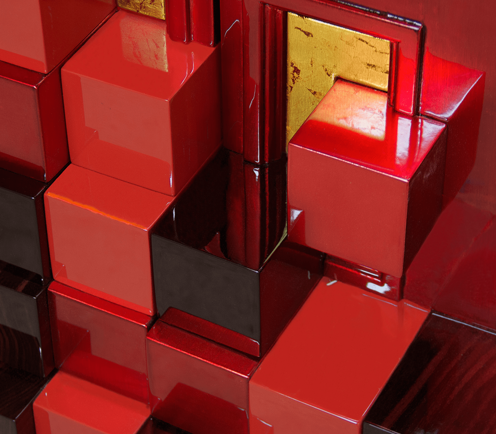 Piccadilly Red Cabinet by Boca do Lobo