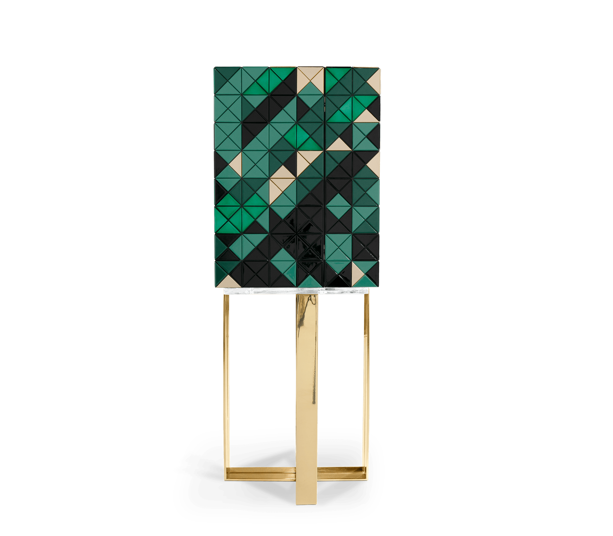 Pixel Green Cabinet by Boca do Lobo
