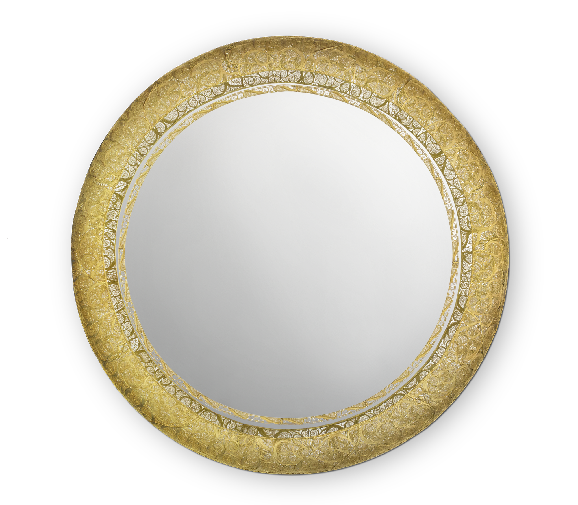 Ring Filigree Mirror by Boca do Lobo