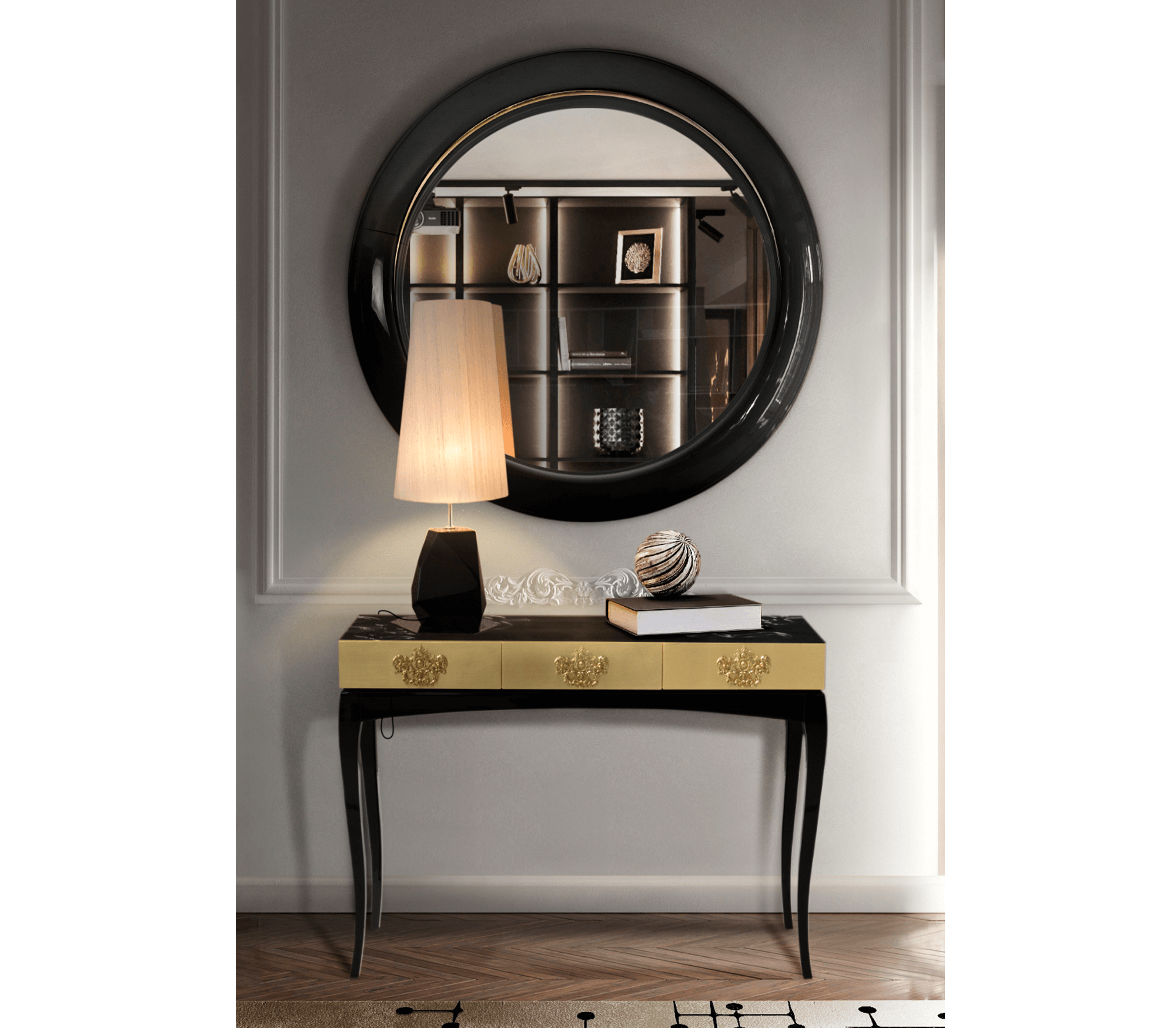 Ring Round Mirror by Boca do Lobo