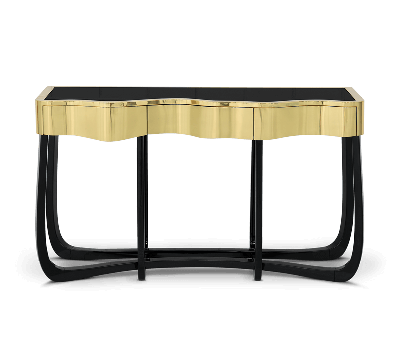 Perfect Bedroom Interior Design Projects For Dubai's Lifestyle bedroom interior design Perfect Bedroom Interior Design Projects For Dubai's Lifestyle sinuous gold console 01 boca do lobo