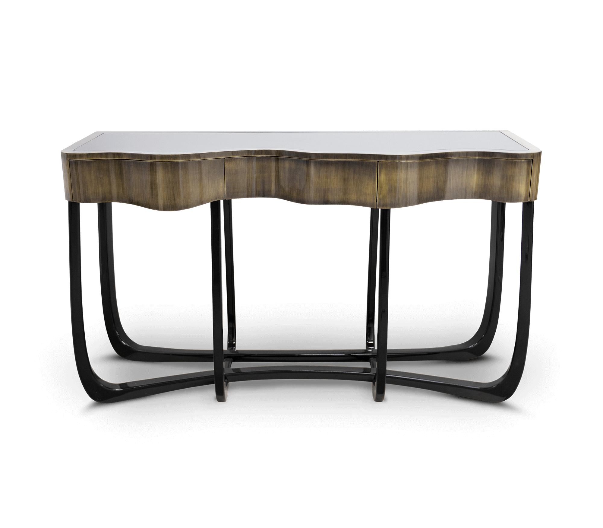 Sinuous Patina Console by Boca do Lobo
