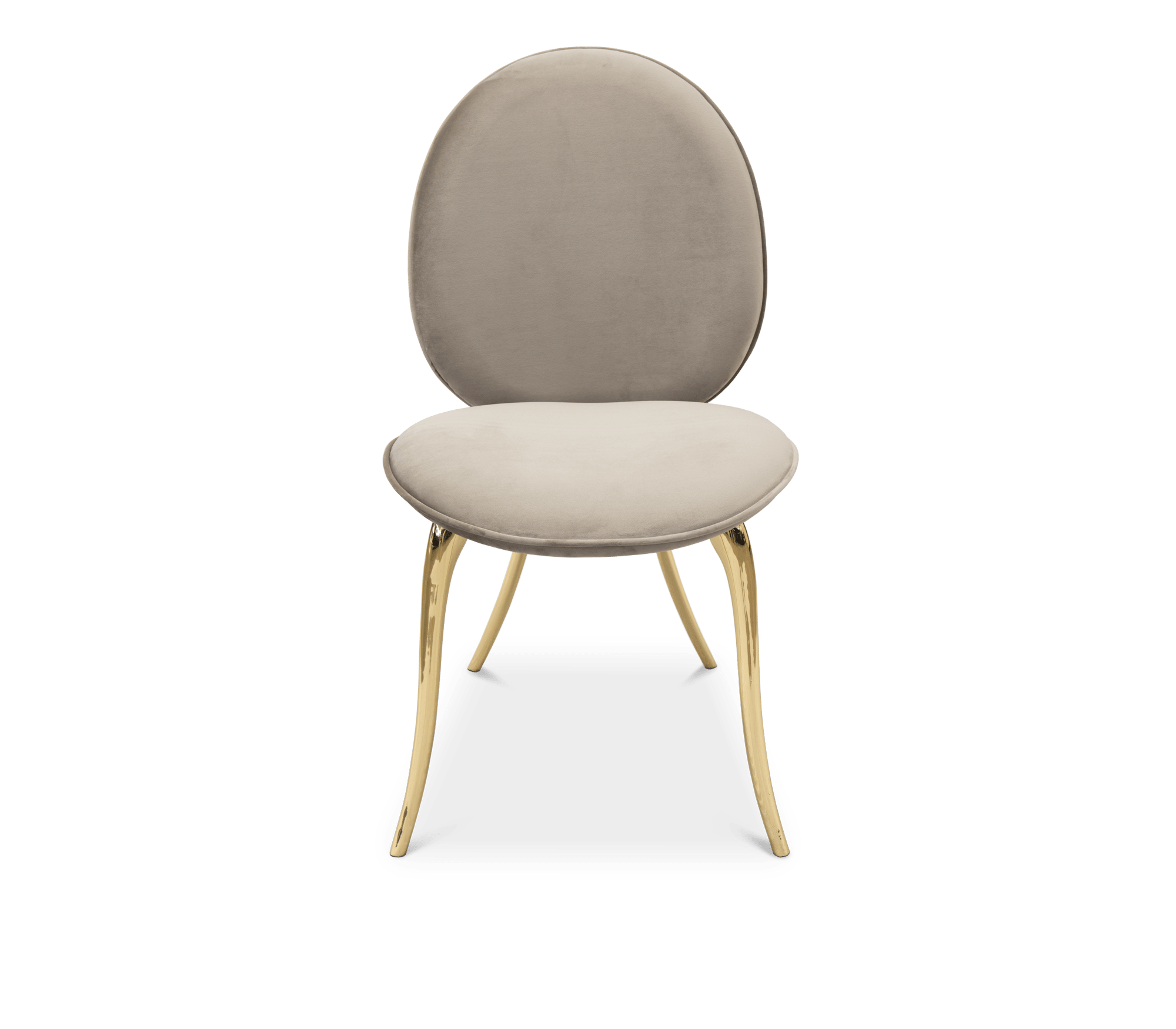 Soleil Cream Chair by Boca do Lobo