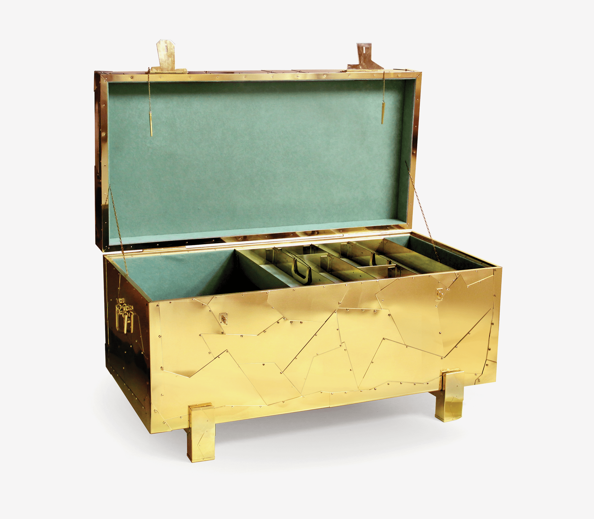 Tortuga Chest by Boca do Lobo