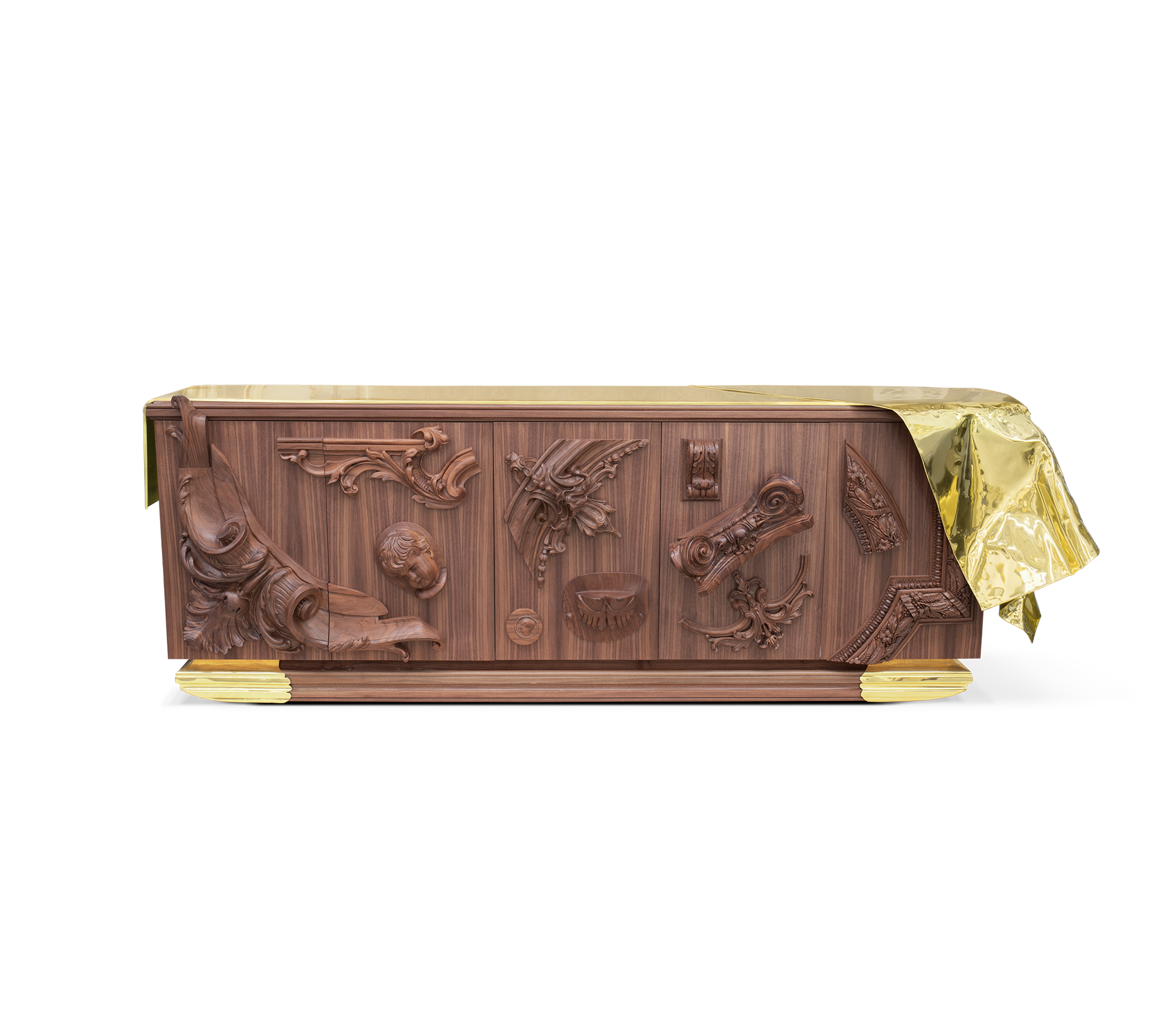 Voltaire Walnut Sideboard by Boca do Lobo