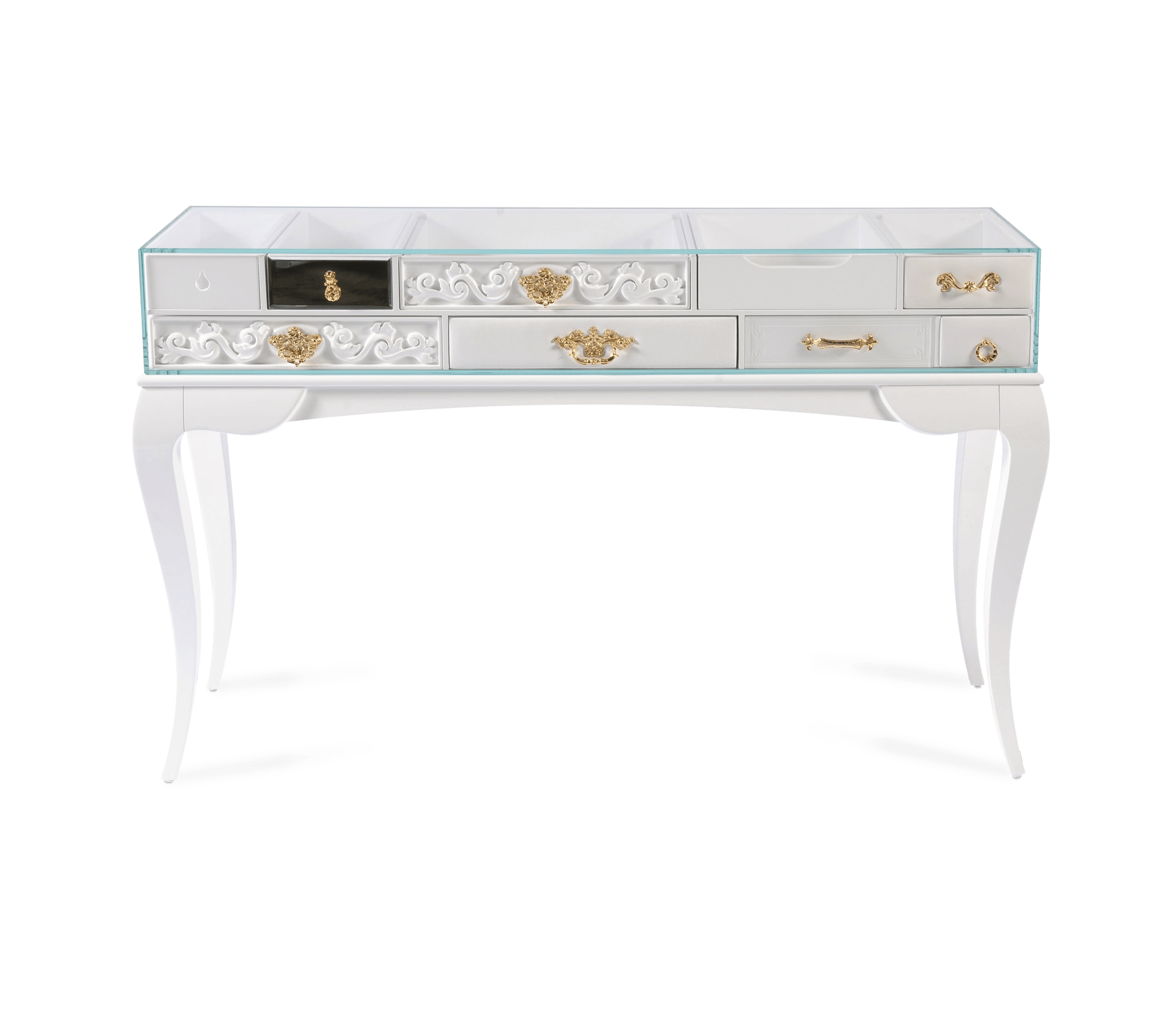 York White Console by Boca do Lobo