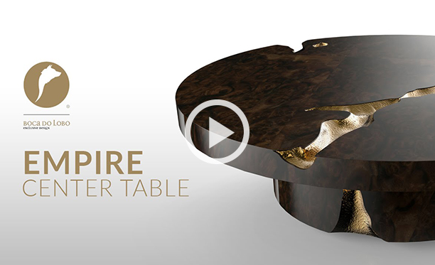 Empire Center Table by Boca do Lobo