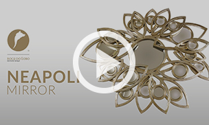 The Neapoli Mirror by Boca do Lobo