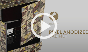 The Pixel Cabinet Anodized by Boca do Lobo