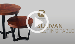 The Sulivan Nesting Table by Boca do Lobo