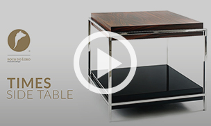 The Times Side Table by Boca do Lobo