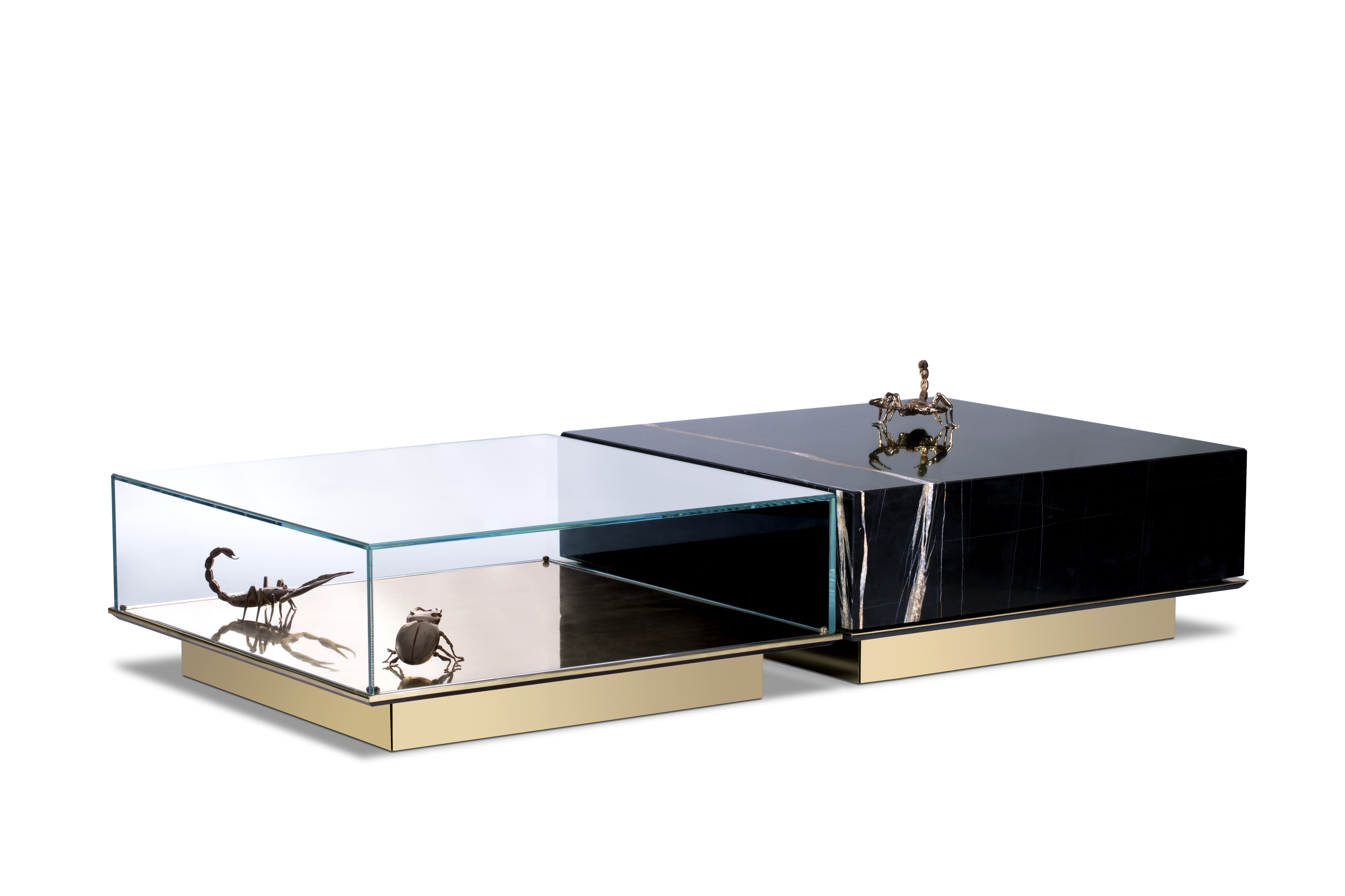 Kaffeetische Top 5 Luxus Kaffeetische mit moderem Design metamorphosis center table 02
