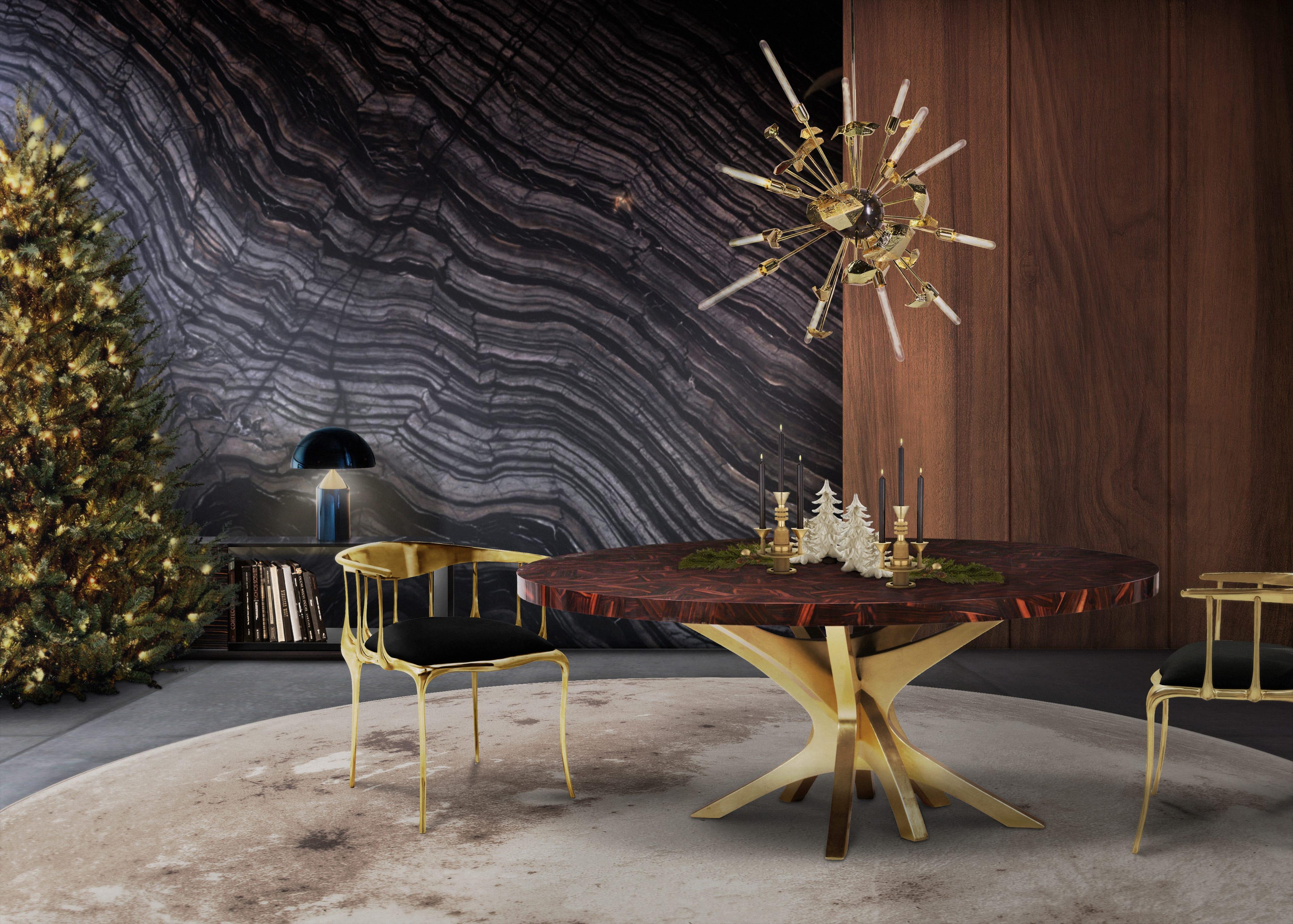 Esszimmer-Ideen Entdecken Sie Erstauliche Skadinavische Esszimmer-Ideen für den Herbst patch dining table natal